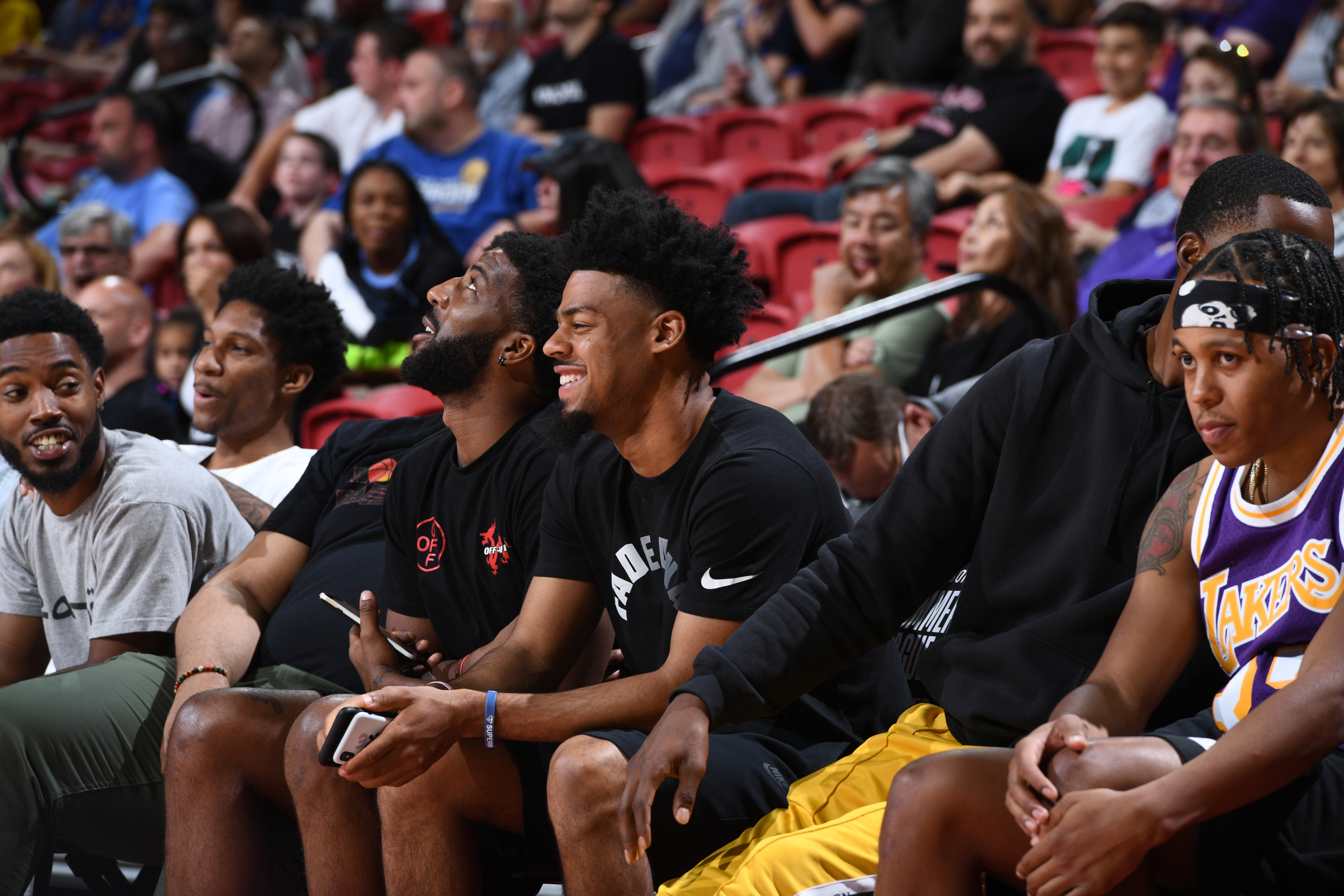 2019 Las Vegas Summer League - Golden State Warriors v Los Angeles Lakers