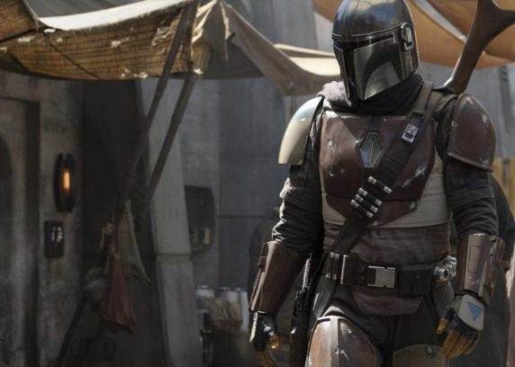 "StarWars.com unveiled a photo from the set of the new show, which is set to be called ""The Mandalorian."""