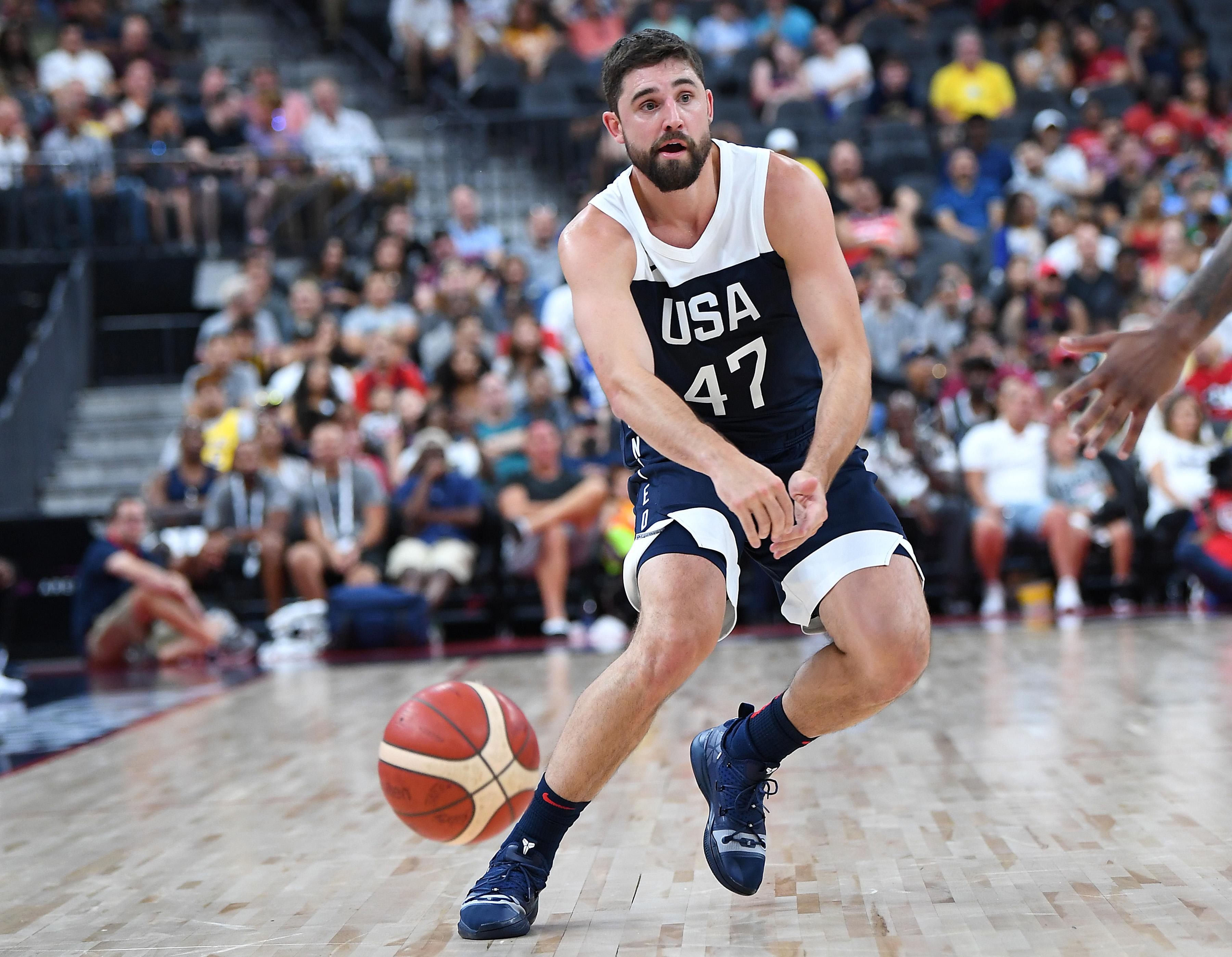 Basketball: USA Basketball Men's National Team-USA White at USA Blue