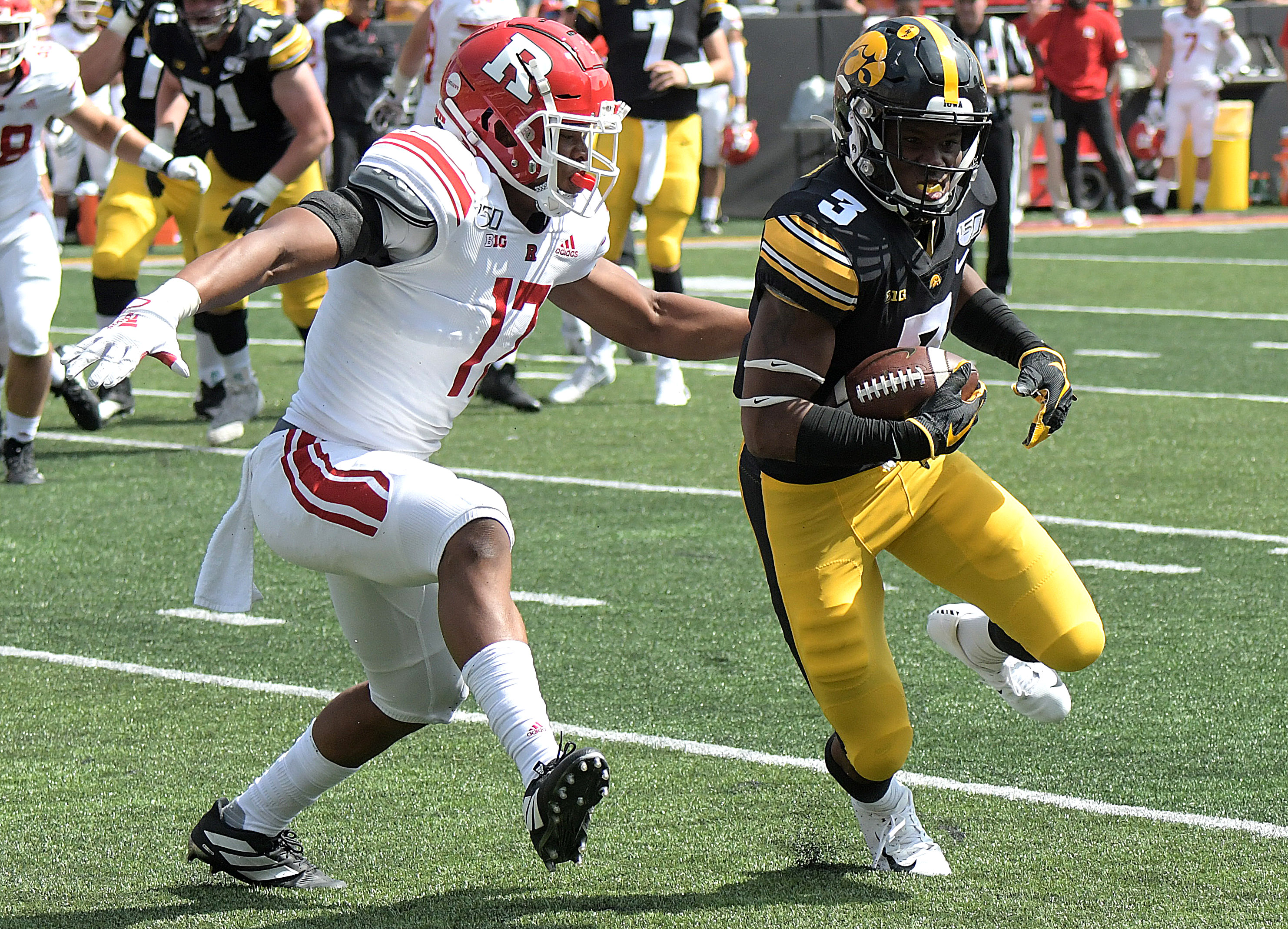 COLLEGE FOOTBALL: SEP 07 Rutgers at Iowa