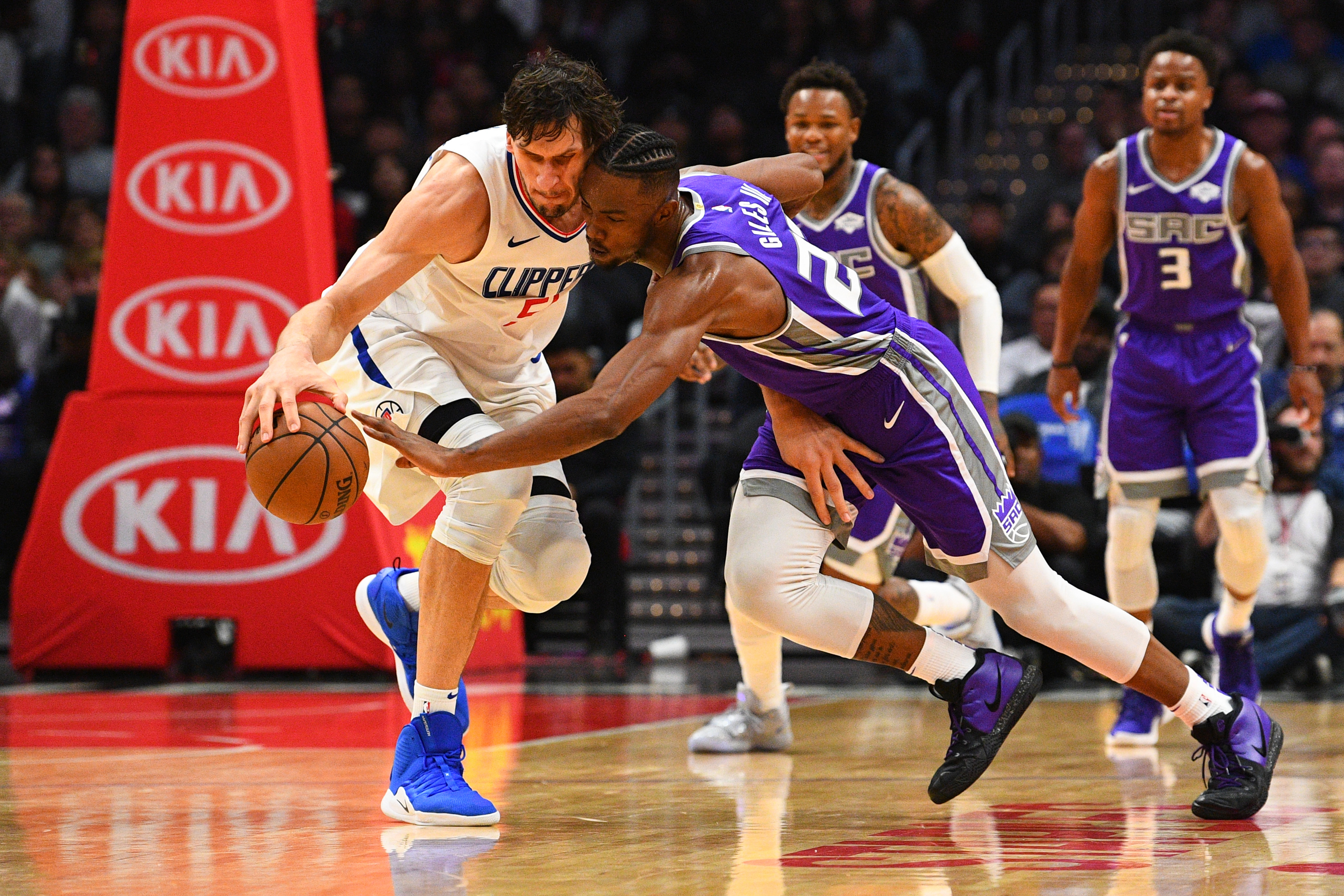 NBA: DEC 26 Kings at Clippers