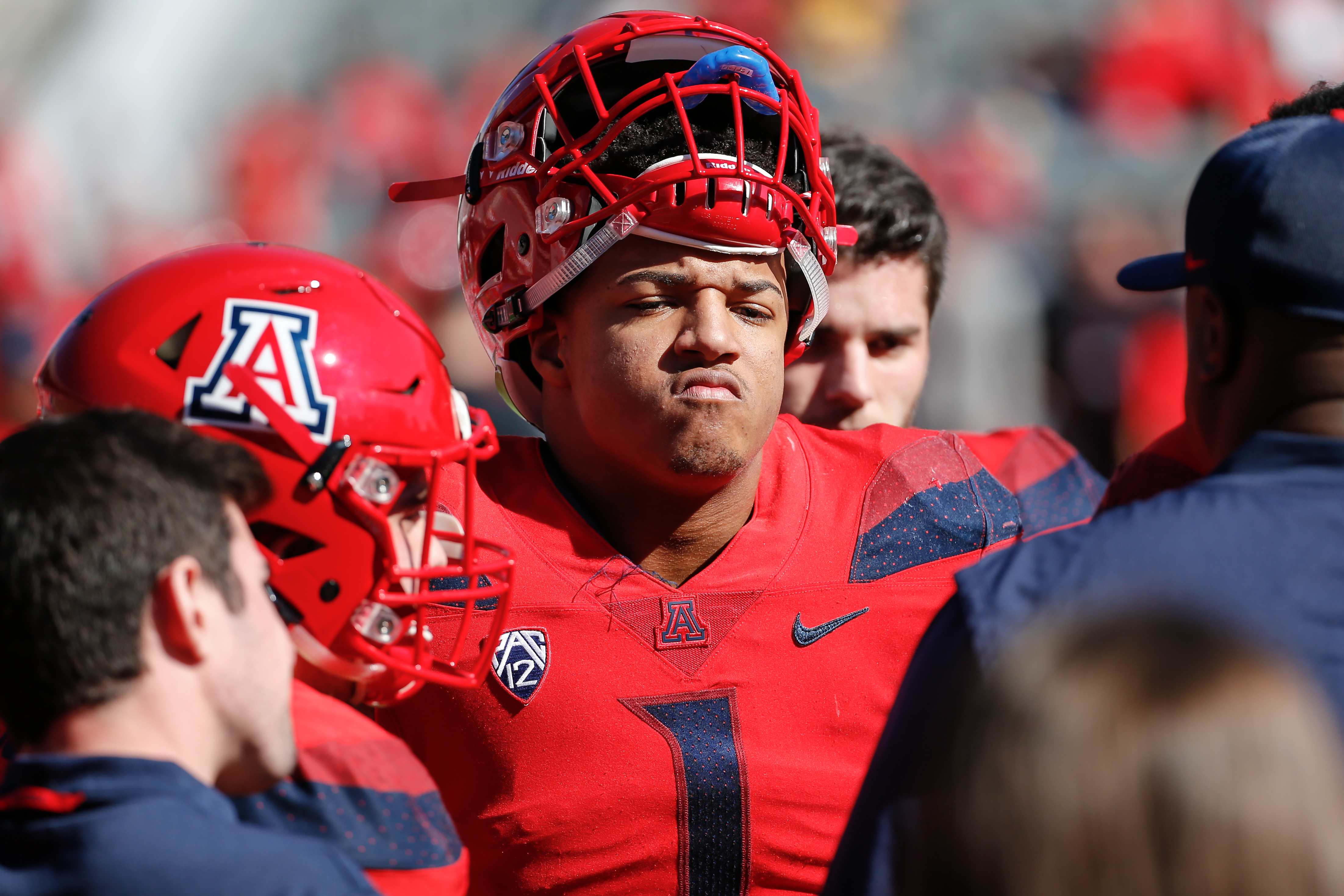 arizona-wildcats-players-texas-tech-interviews-defense-fields-taylor-burns