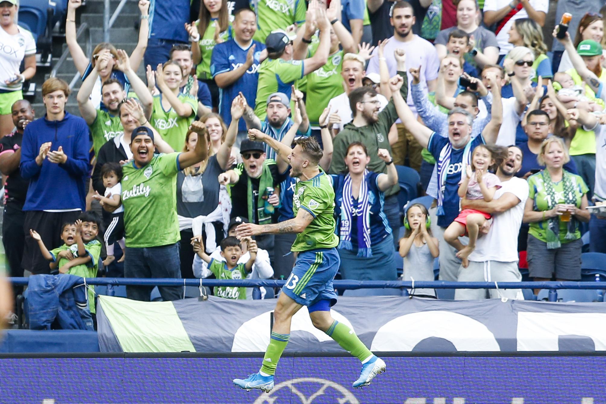 MLS:西雅图探测器的La Galaxy FC