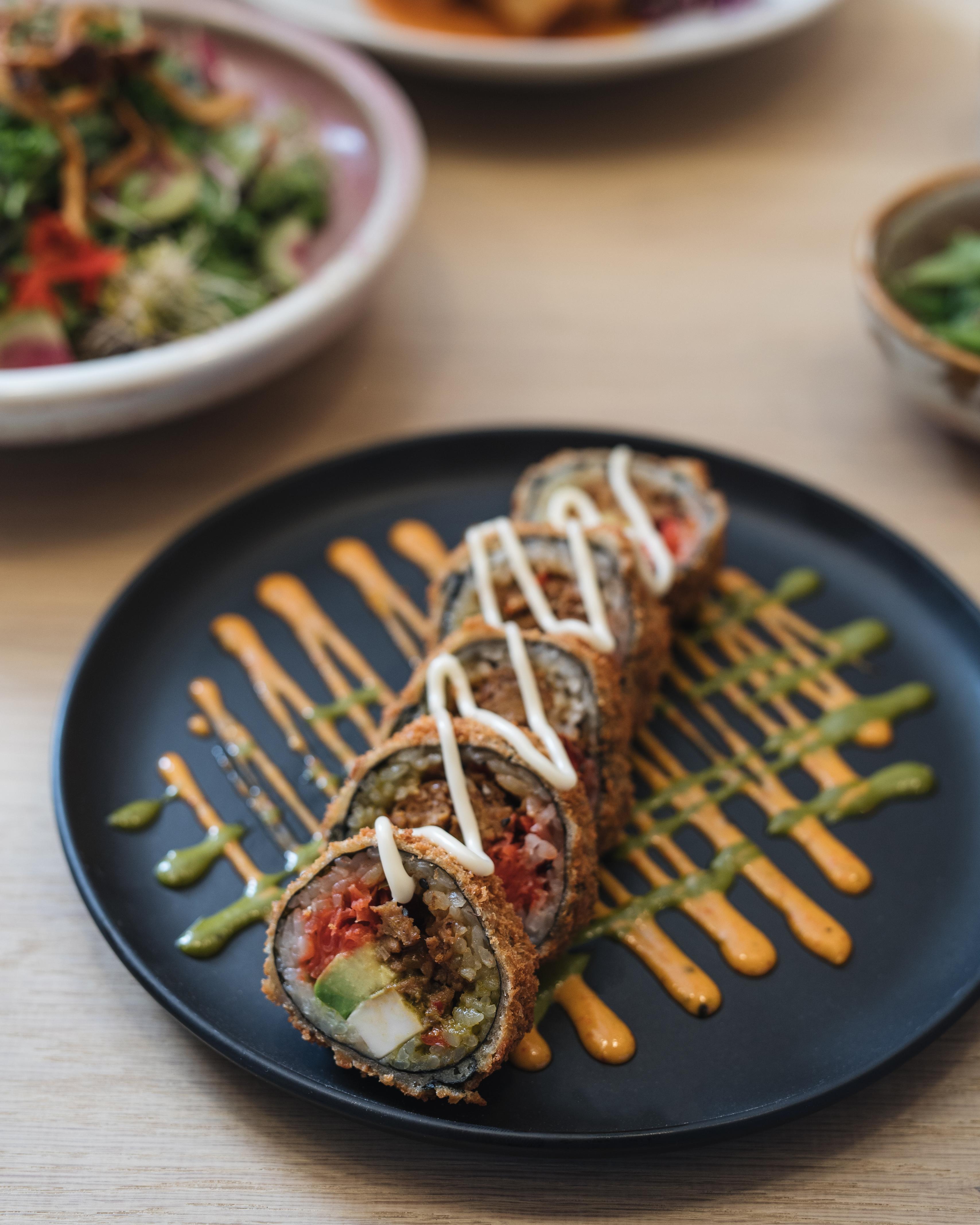 Peep the Menu at Old Montreal's Brand New Vegan Sushi Spot
