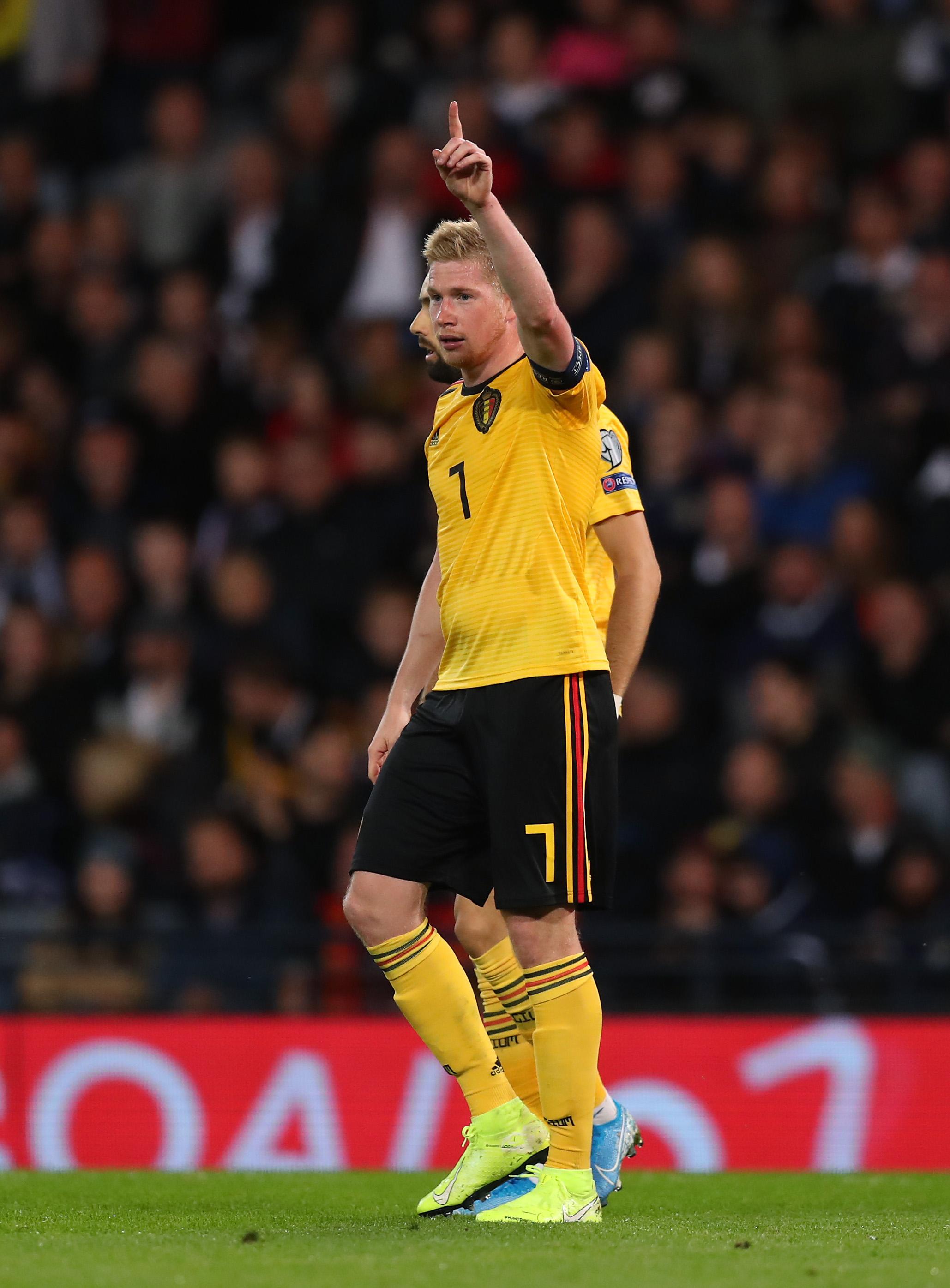 Scotland v Belgium - UEFA Euro 2020 Qualifier