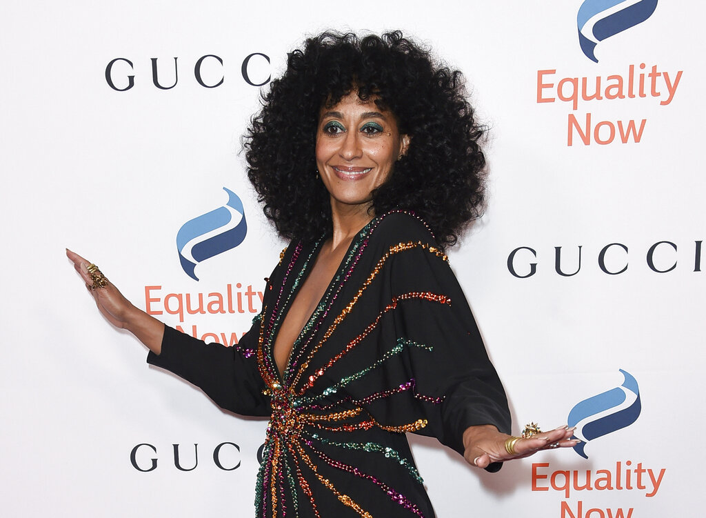 "Tracee Ellis Ross at the 2018 Equality Now's ""Make Equality Reality"" gala in Beverly Hills, Calif."