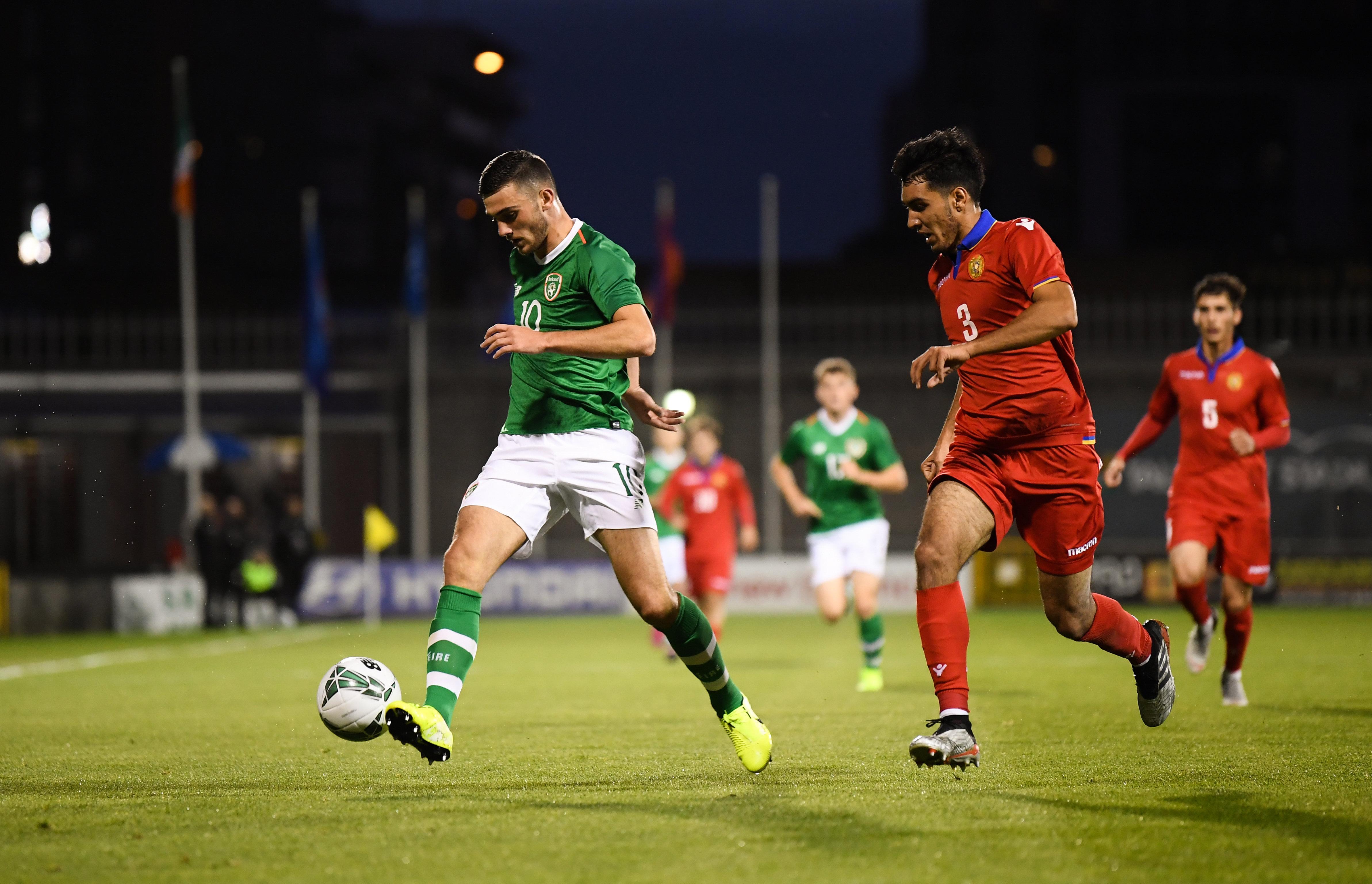 Republic of Ireland v Armenia - UEFA European U21 Championship Qualifier Group 1