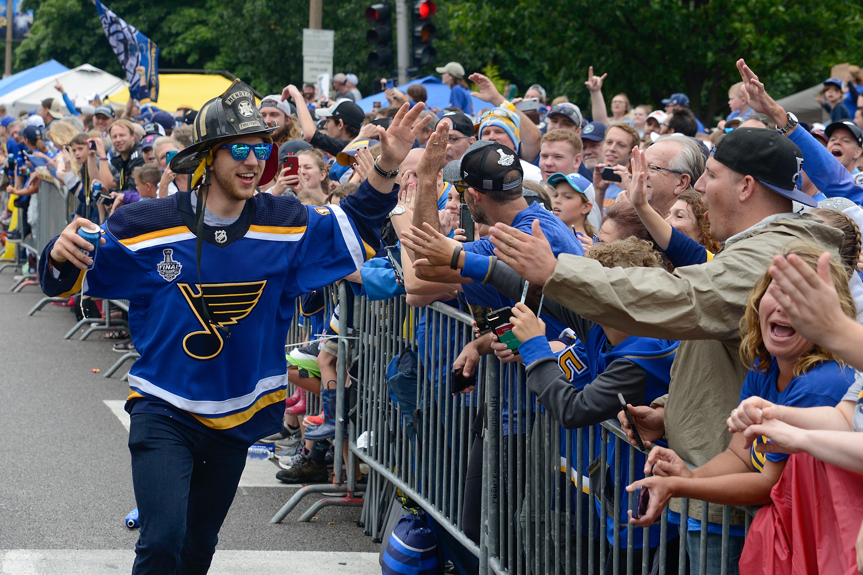 St. Louis Blues Victory Parade and Rally
