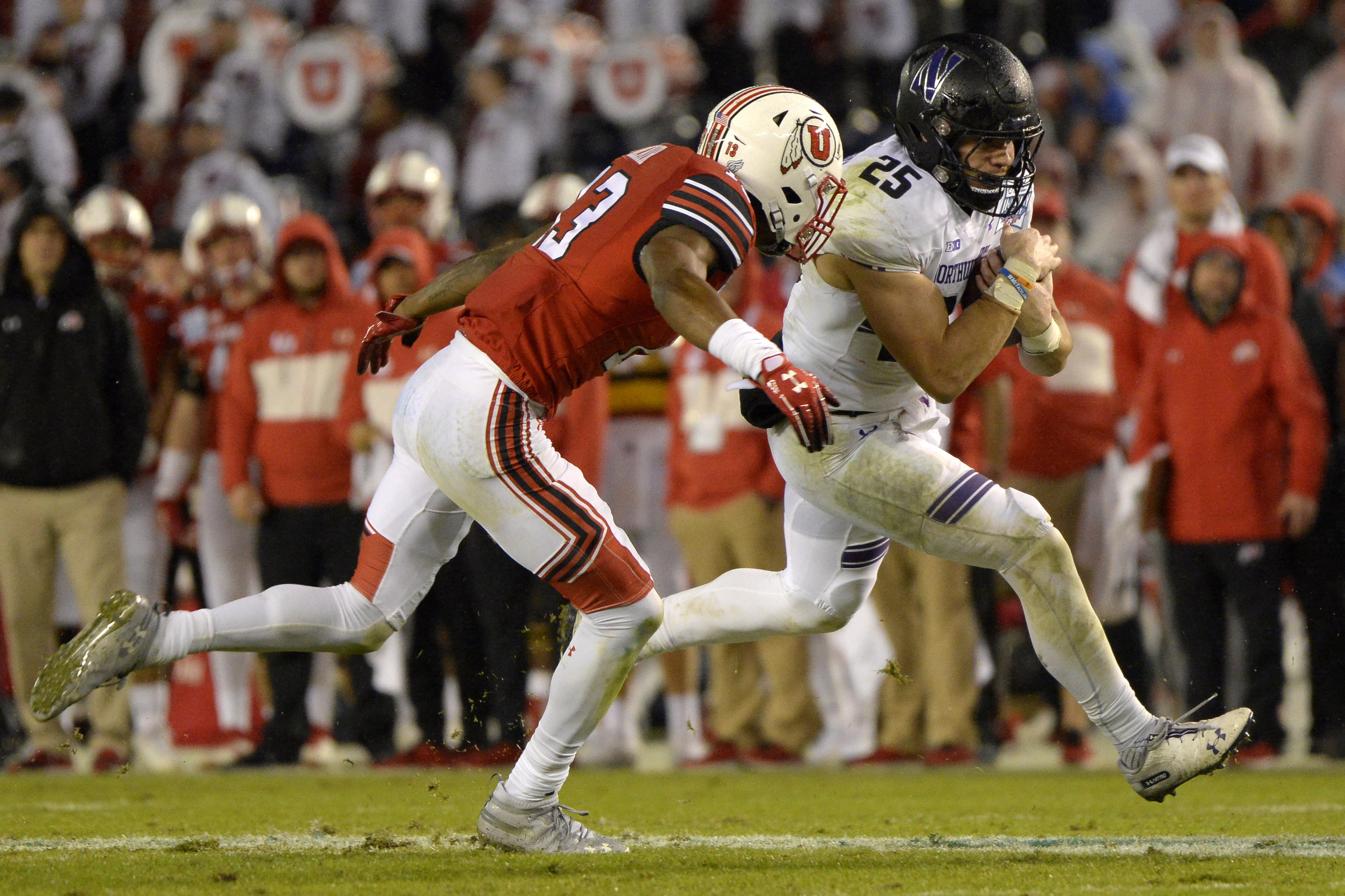 NCAA Football: Holiday Bowl-Northwestern vs Utah