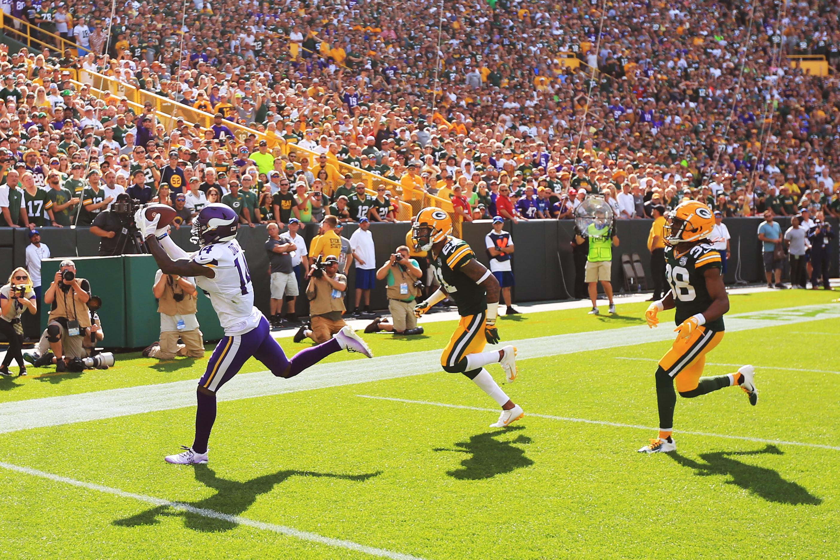 NFL: SEP 16 Vikings at Packers