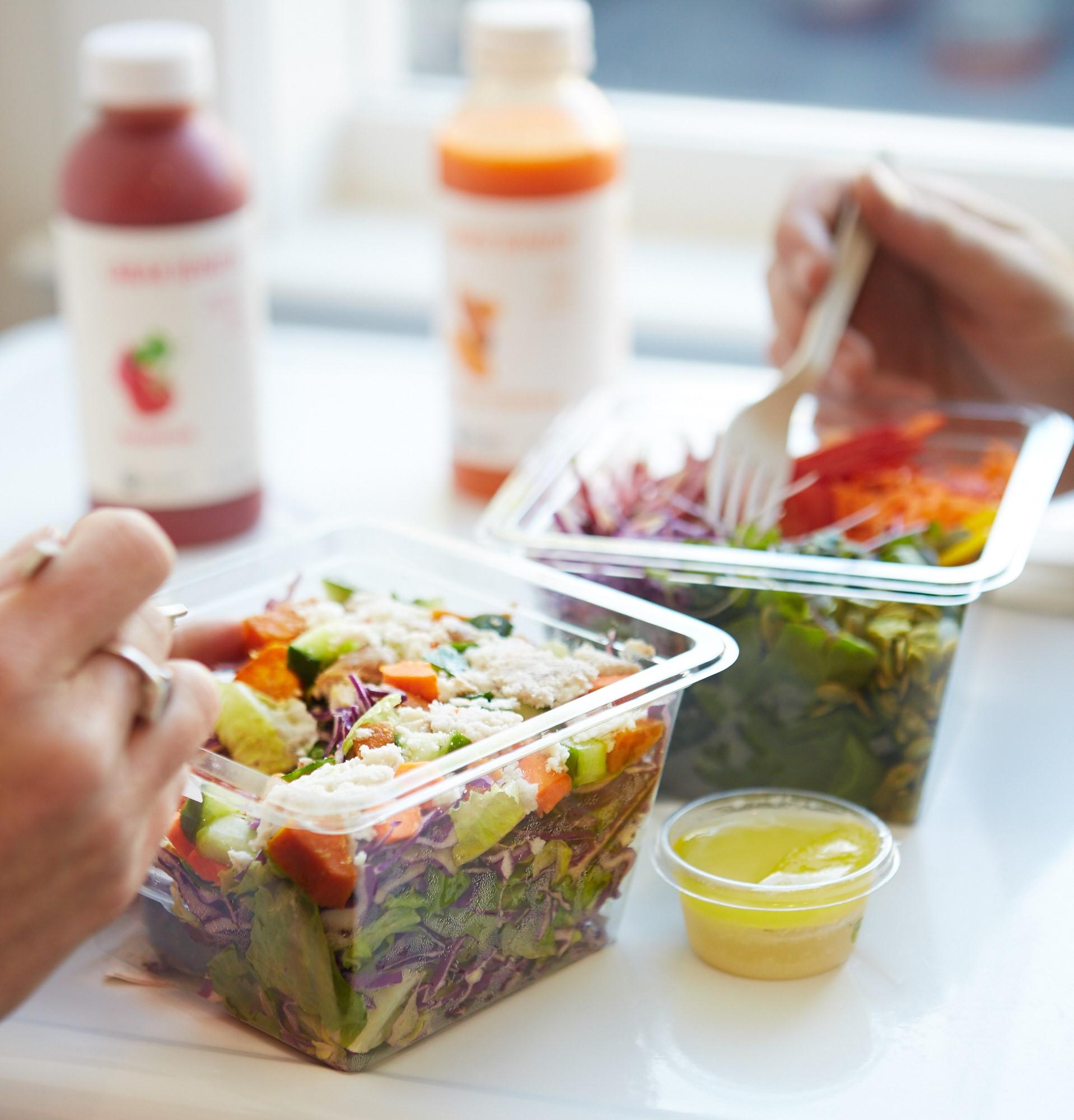 Salads at Urban Remedy