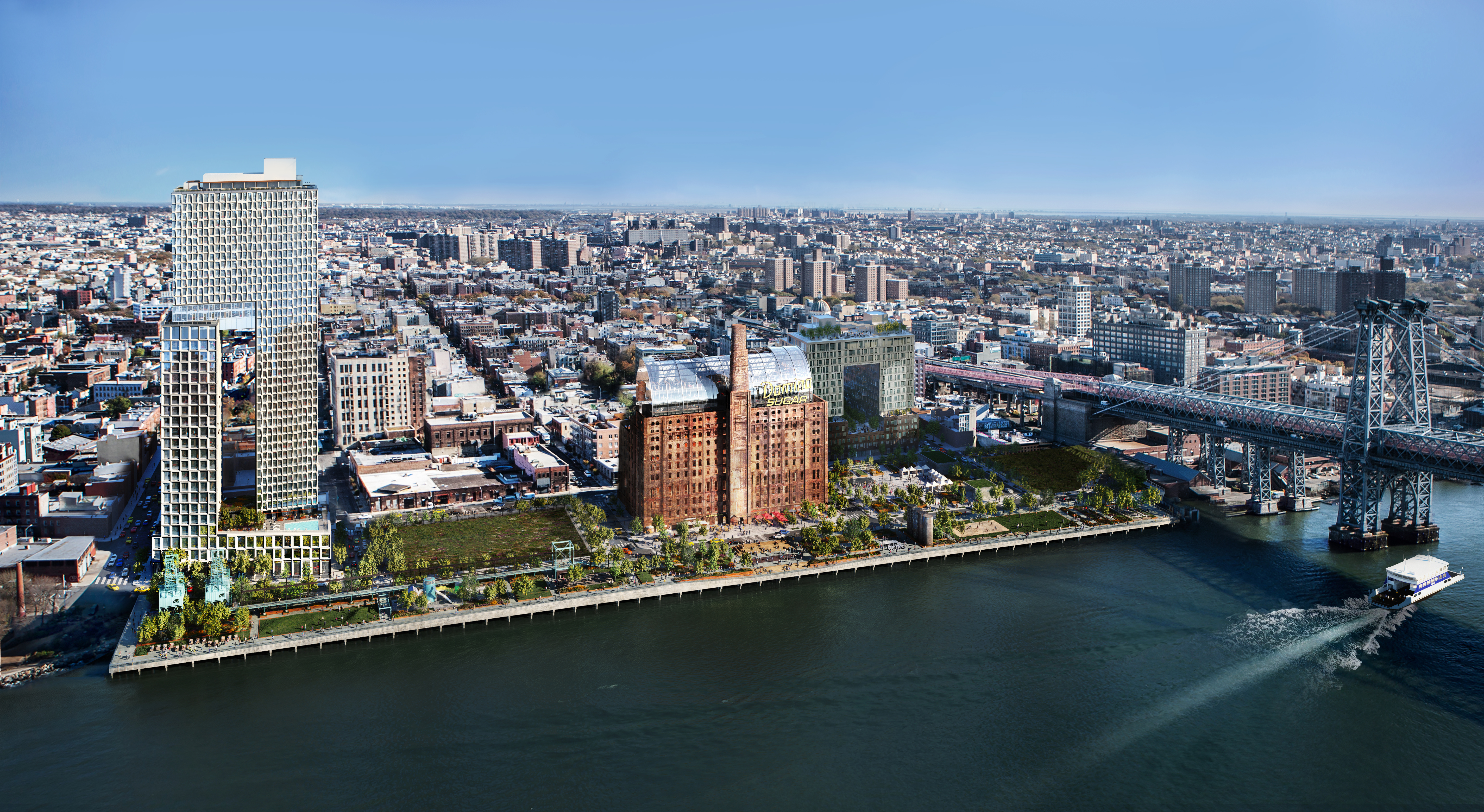 Domino megaproject's second rental debuts in Williamsburg