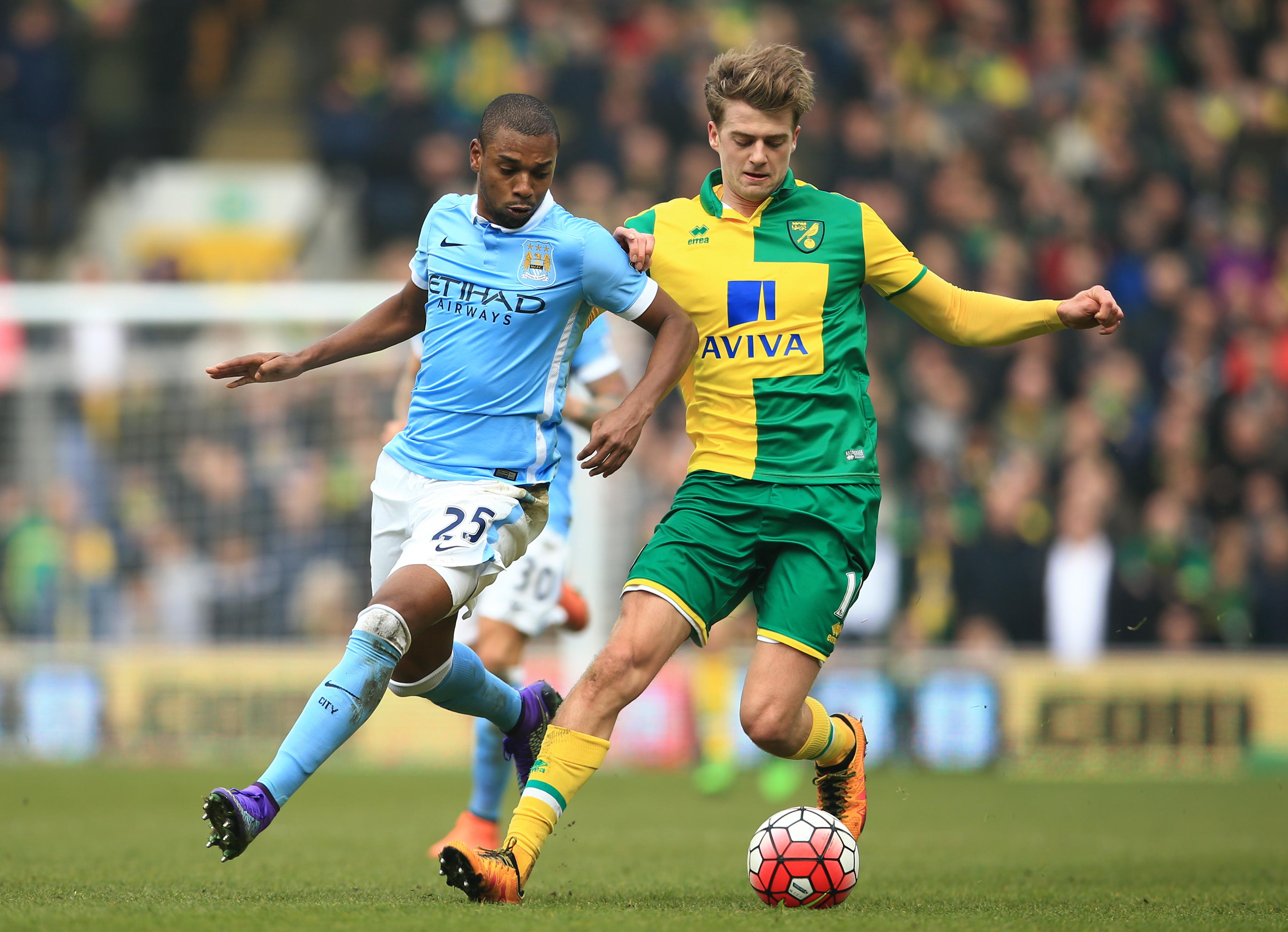 Norwich City v Manchester City - Barclays Premier League - Carrow Road