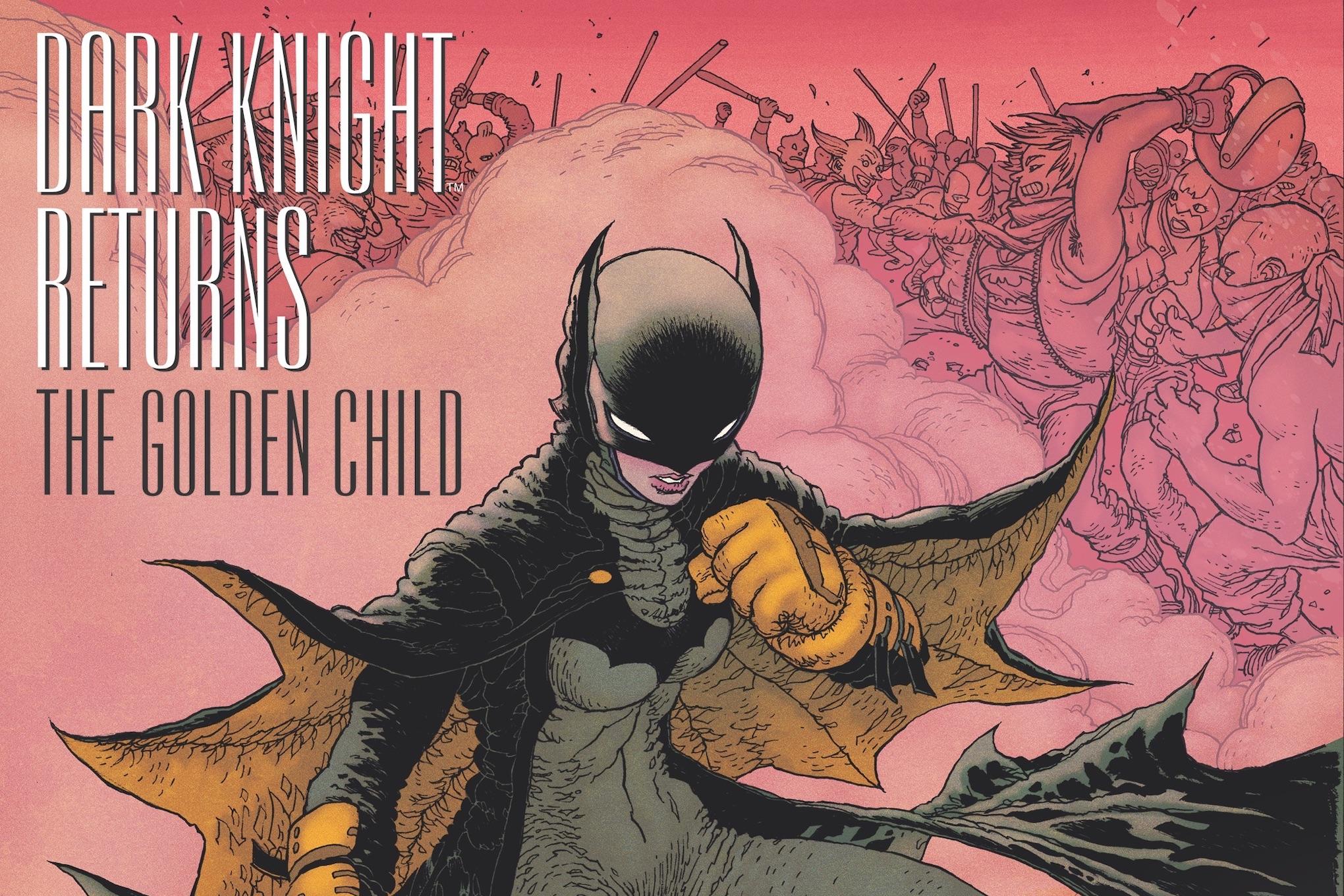 Frank Miller returns to the Dark Knight yet again, in The Golden Child