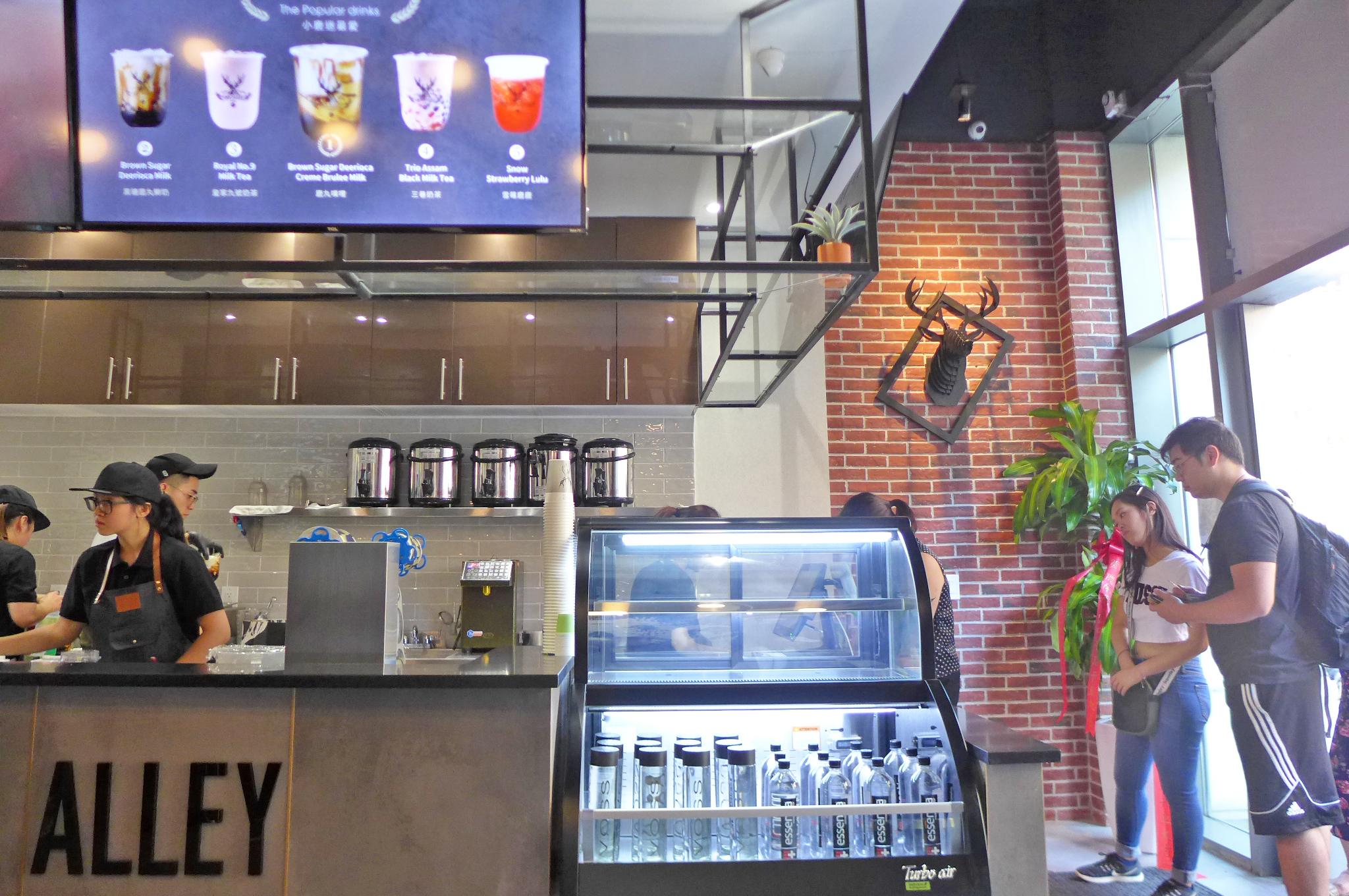 NYC's Newest Bubble Tea Shop Is a Caramelized Burnt Sugar Delight