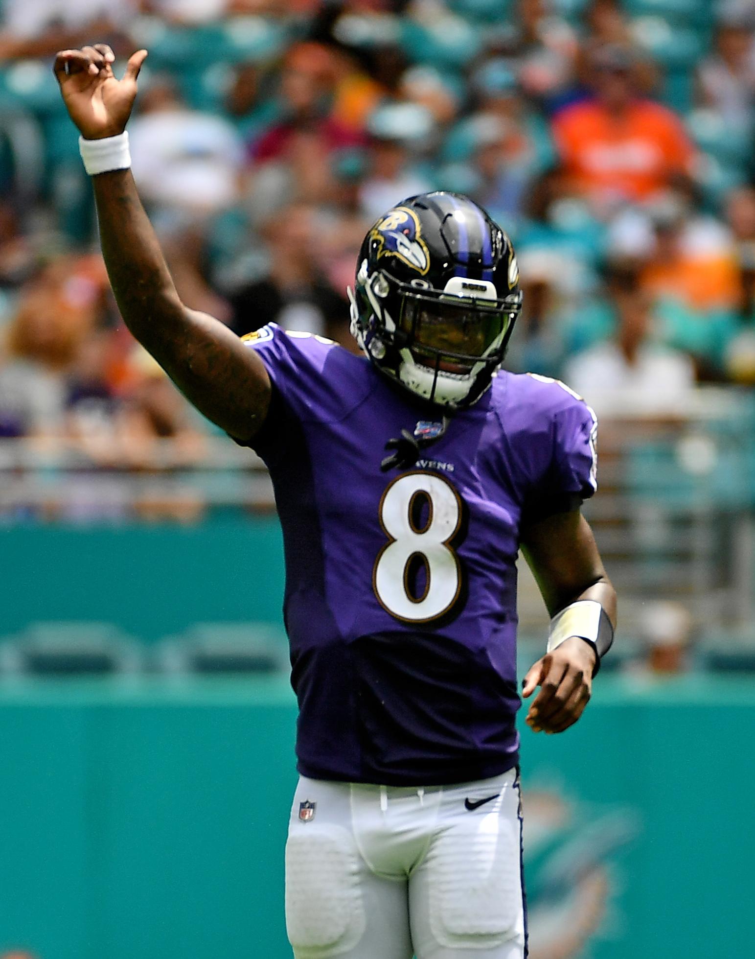 NFL: Baltimore Ravens at Miami Dolphins