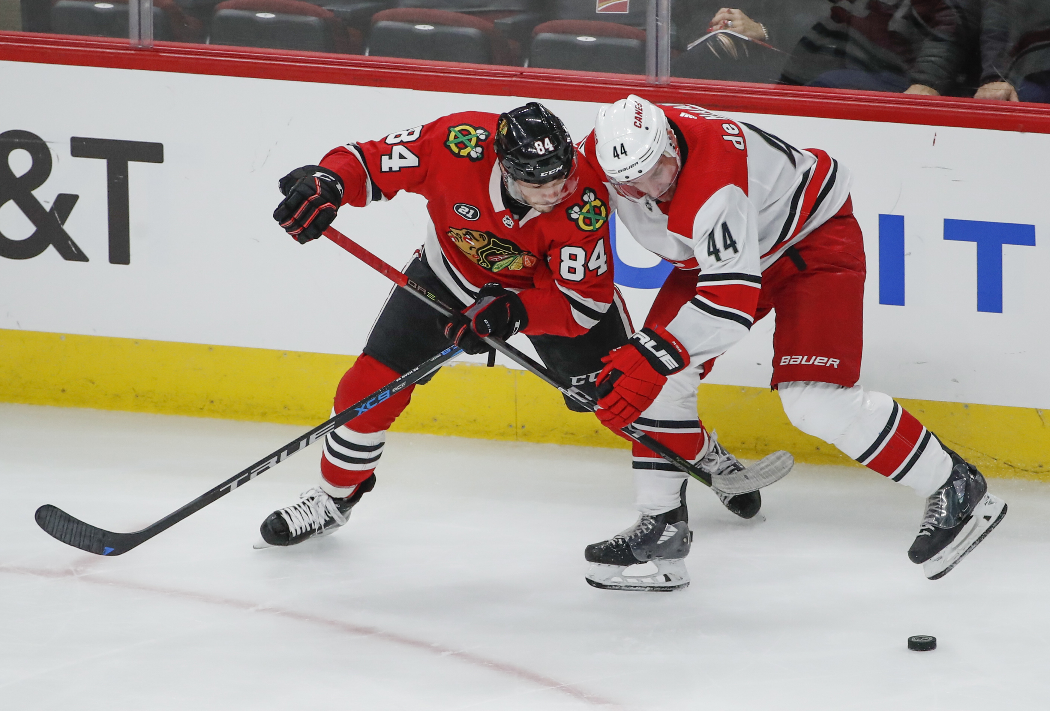 NHL: Carolina Hurricanes at Chicago Blackhawks