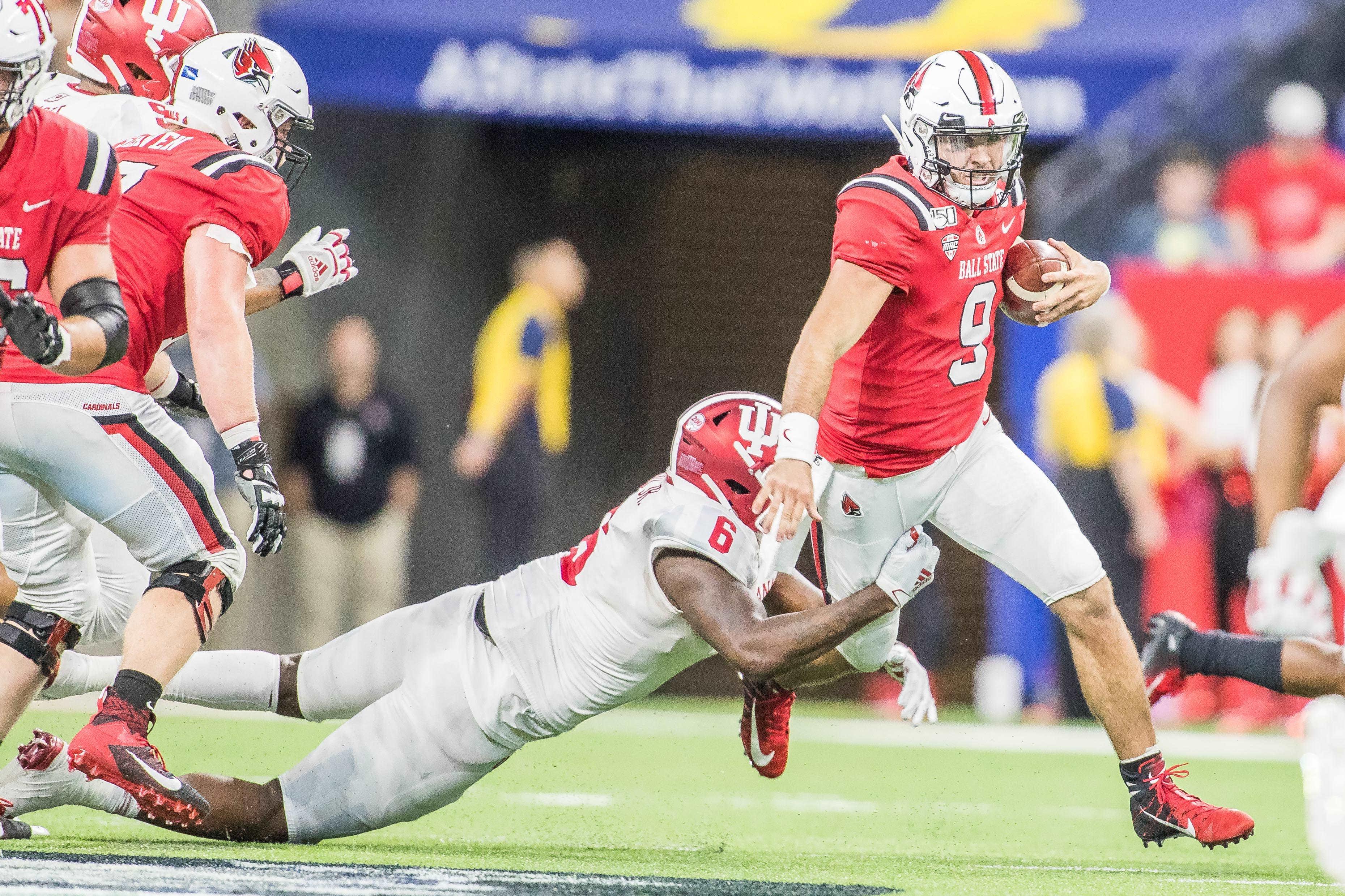 NCAA Football: Indiana at Ball State