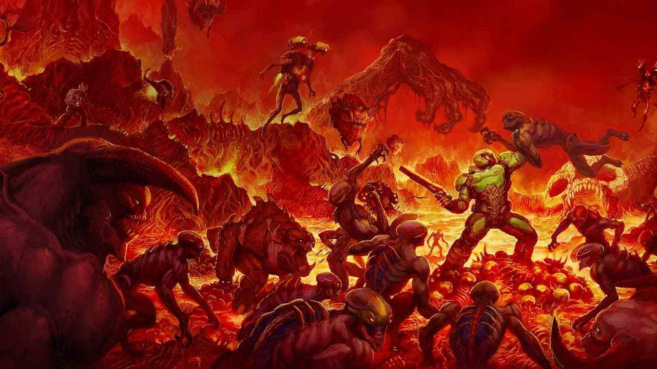 Modder re-creates Doom (2016) in Doom 2