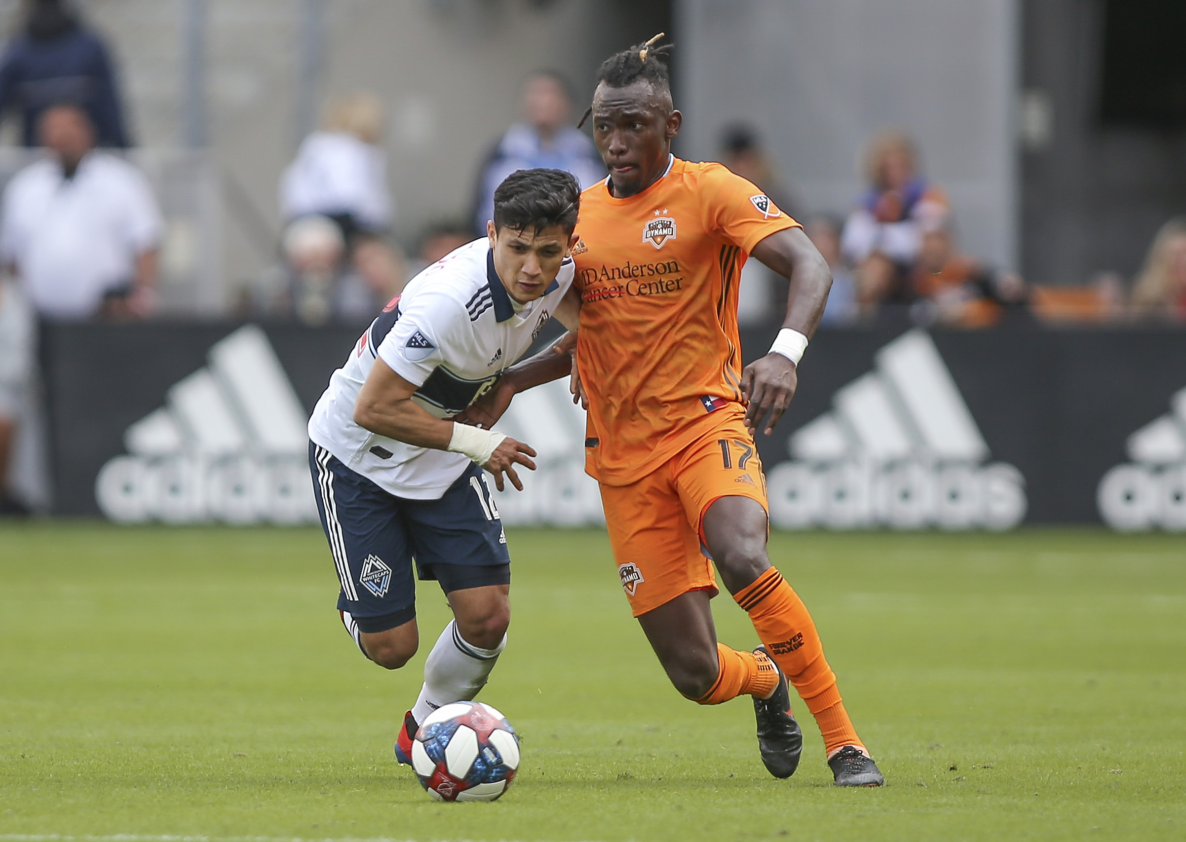 MLS: Vancouver Whitecaps FC at Houston Dynamo
