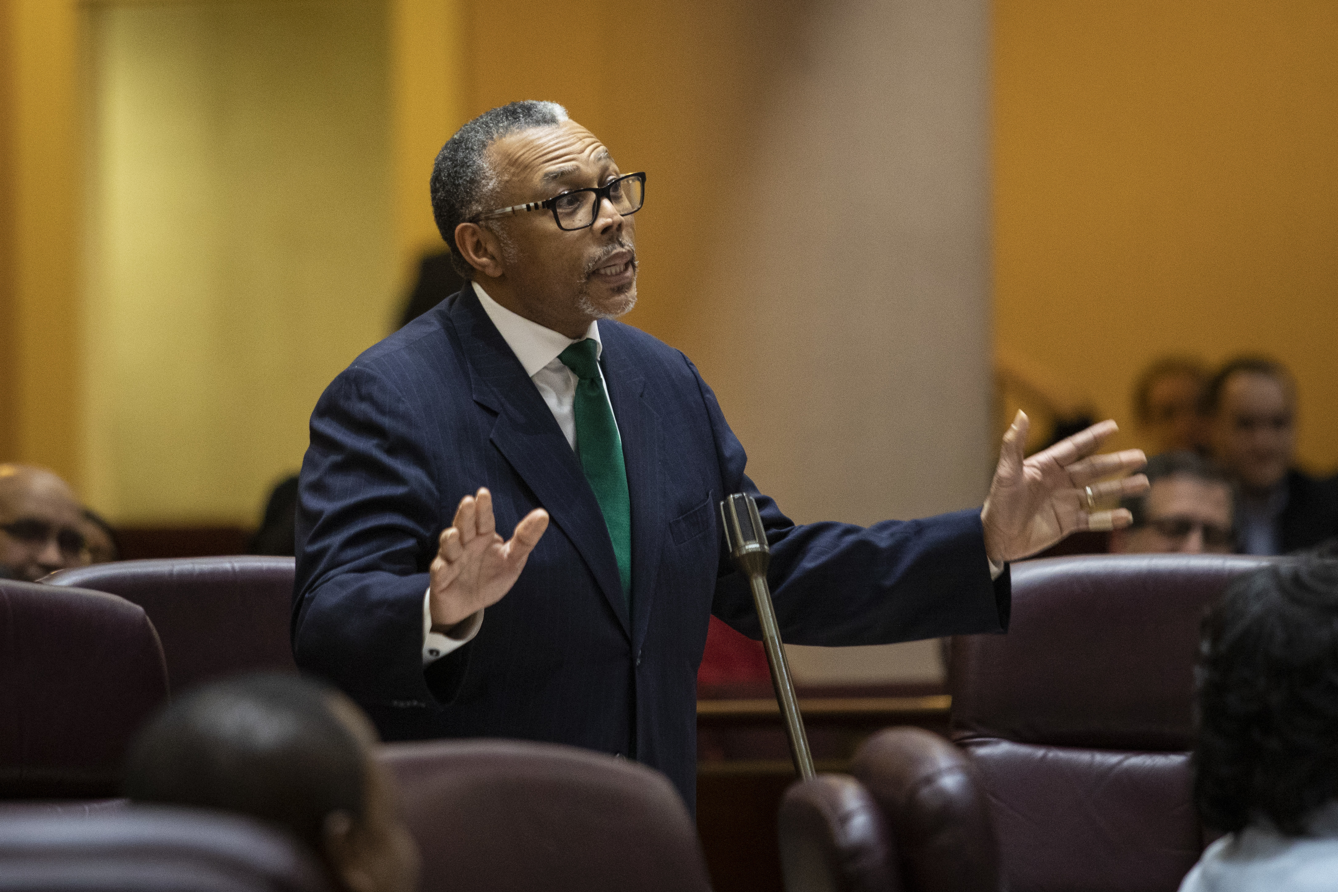 Ald. Howard Brookins (21st), who practices criminal law, asked the Chicago Board of Ethics to interpret Mayor Lori Lightfoot's ethics ordinance and its impact on his criminal defense practice.