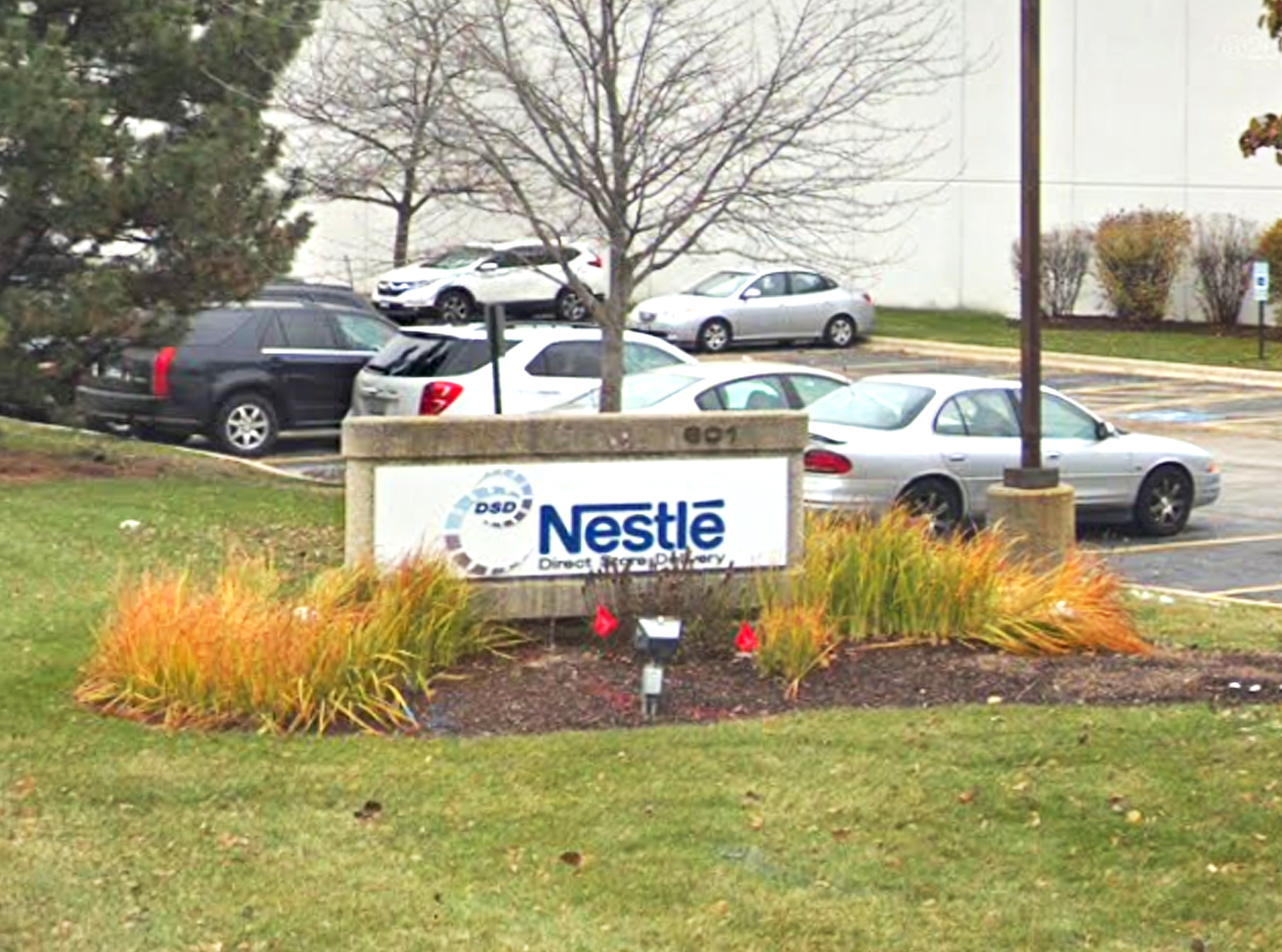 Nestlé USA distribution center at 601 Wall St. in Glendale Heights