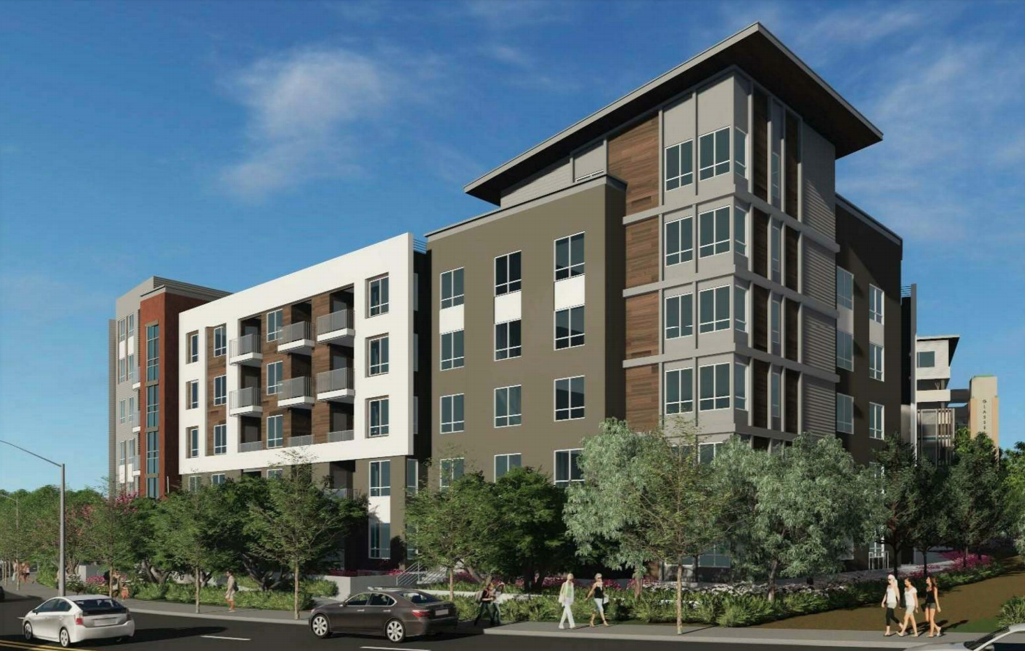 Freeway-hugging apartments in Glassell Park have the planning commission's blessing