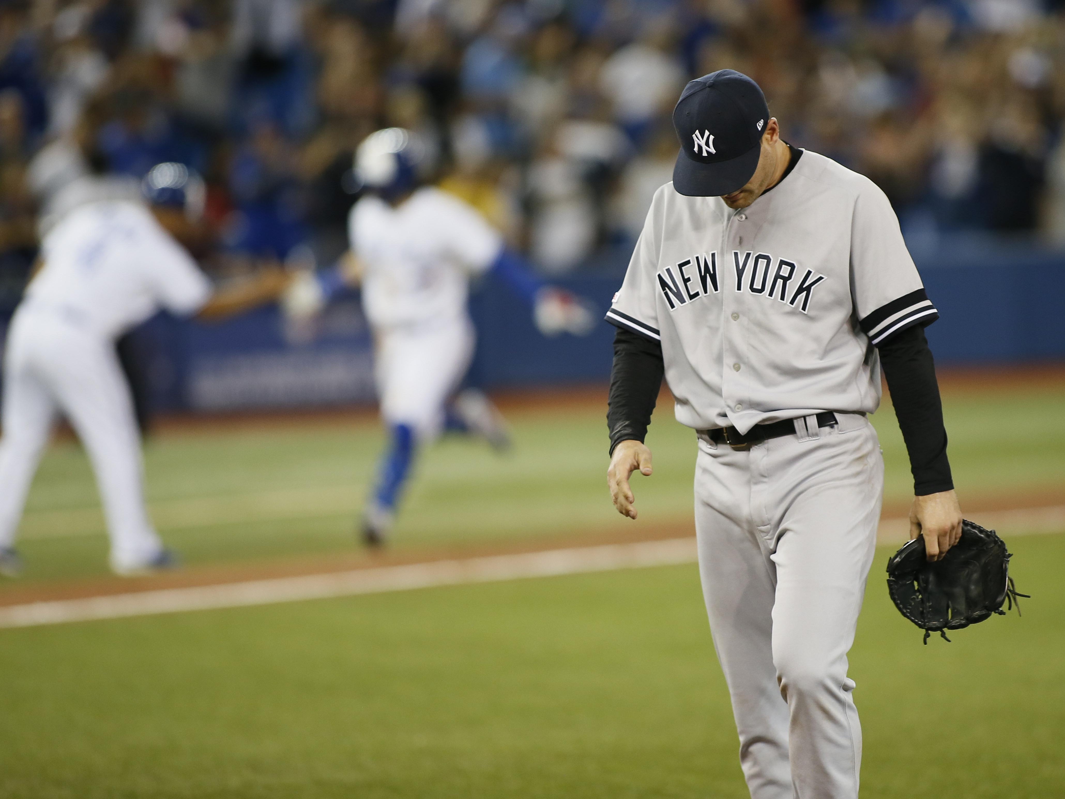 MLB: New York Yankees at Toronto Blue Jays