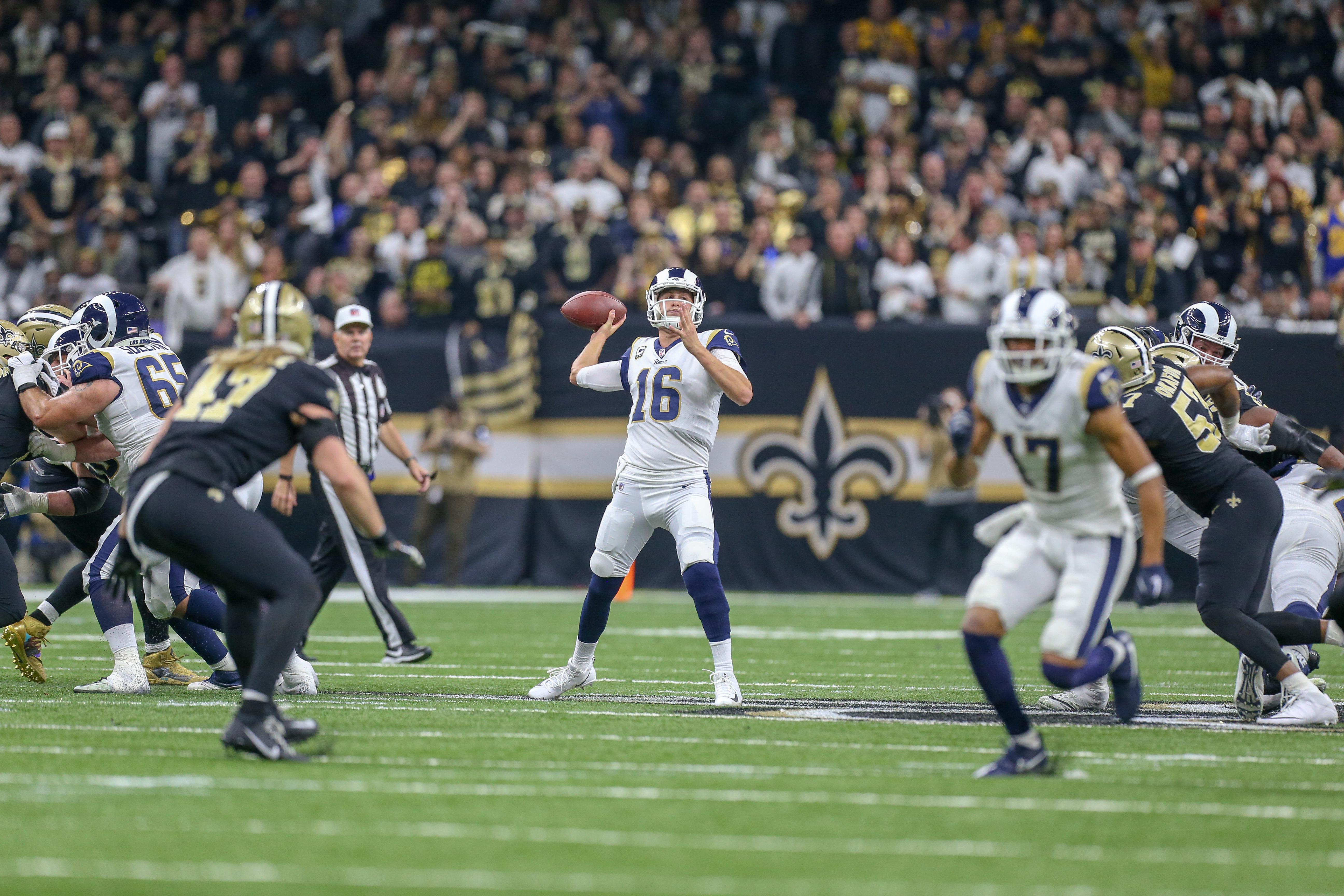 NFL: JAN 20 NFC Championship Game - Rams at Saints