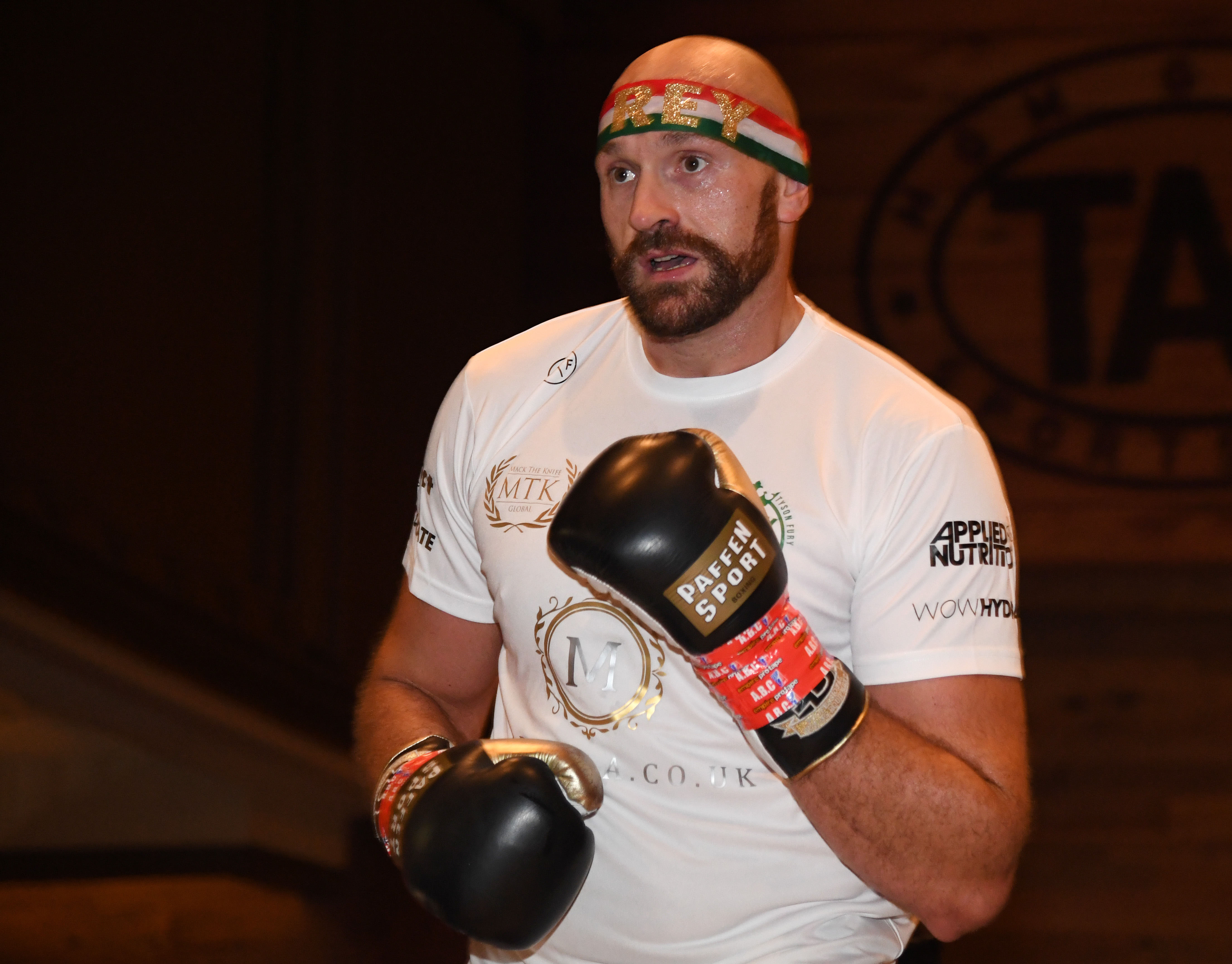 Tyson Fury v Otto Wallin - Open Workouts