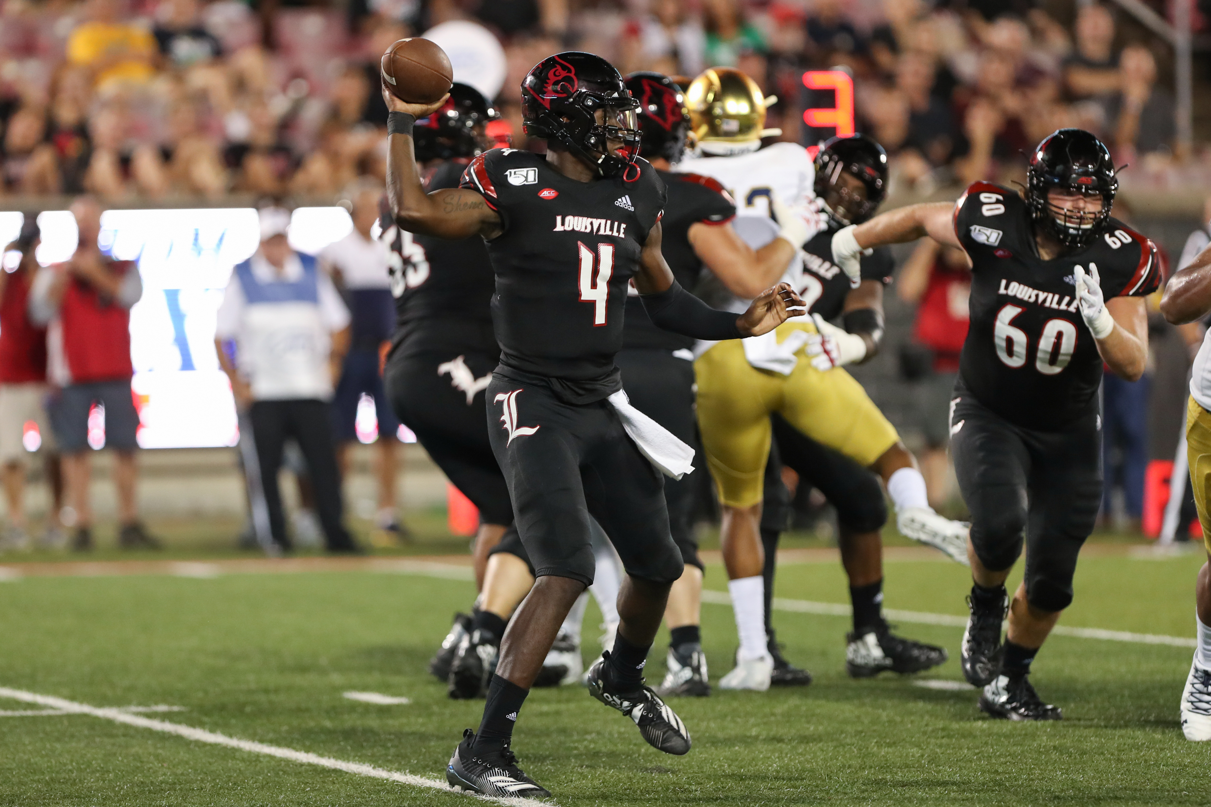 COLLEGE FOOTBALL: SEP 02 Notre Dame at Louisville