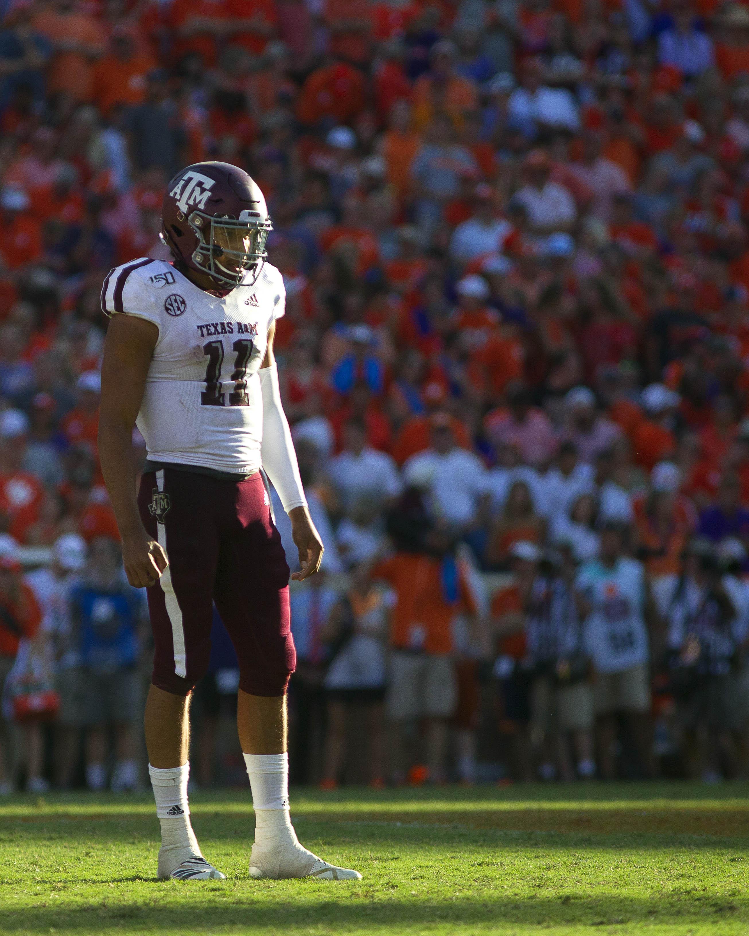NCAA Football: Texas A&M at Clemson