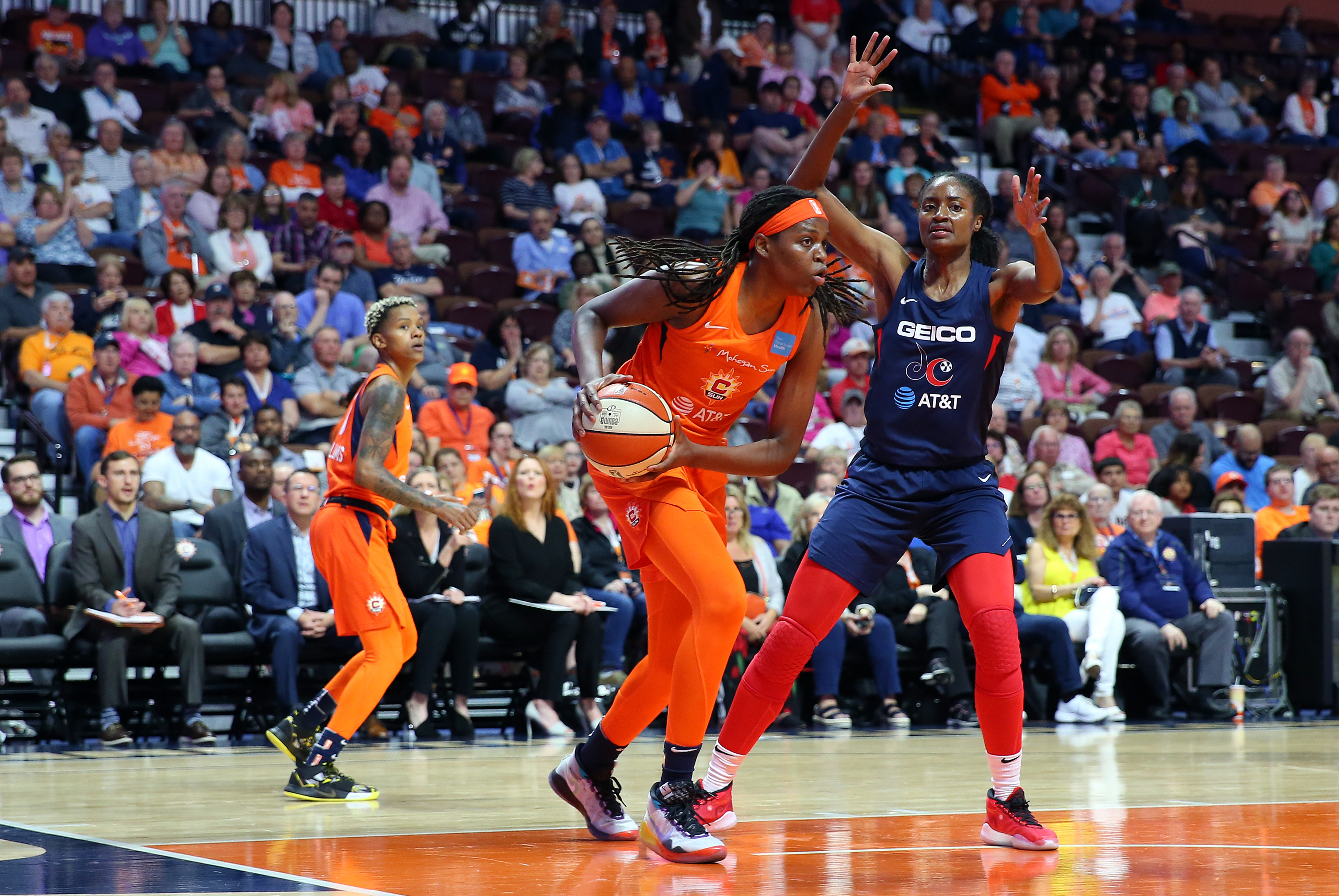 WNBA: JUN 11 Washington Mystics at Connecticut Sun