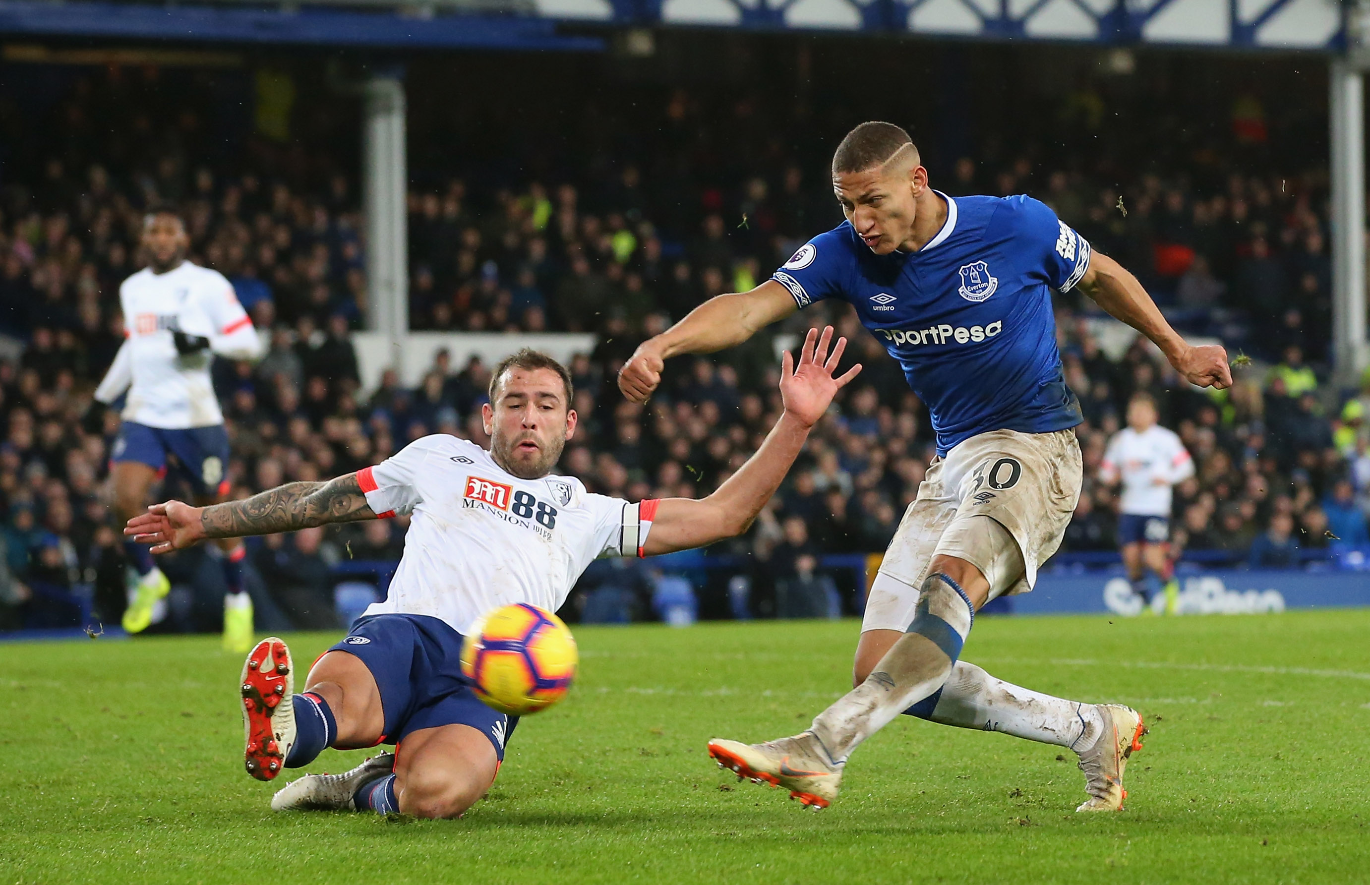 Everton at Bournemouth: Projected XI