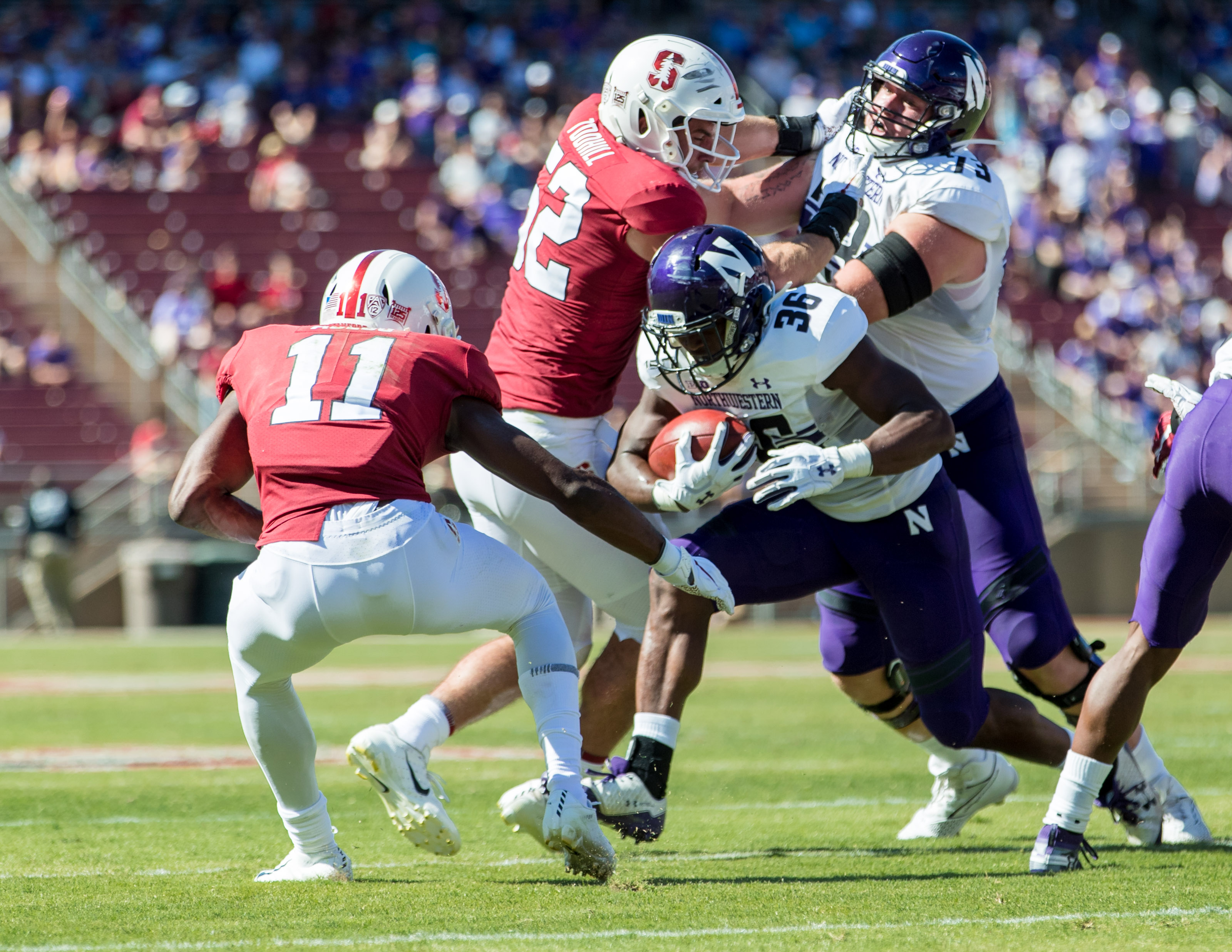 NCAA Football: Northwestern at Stanford