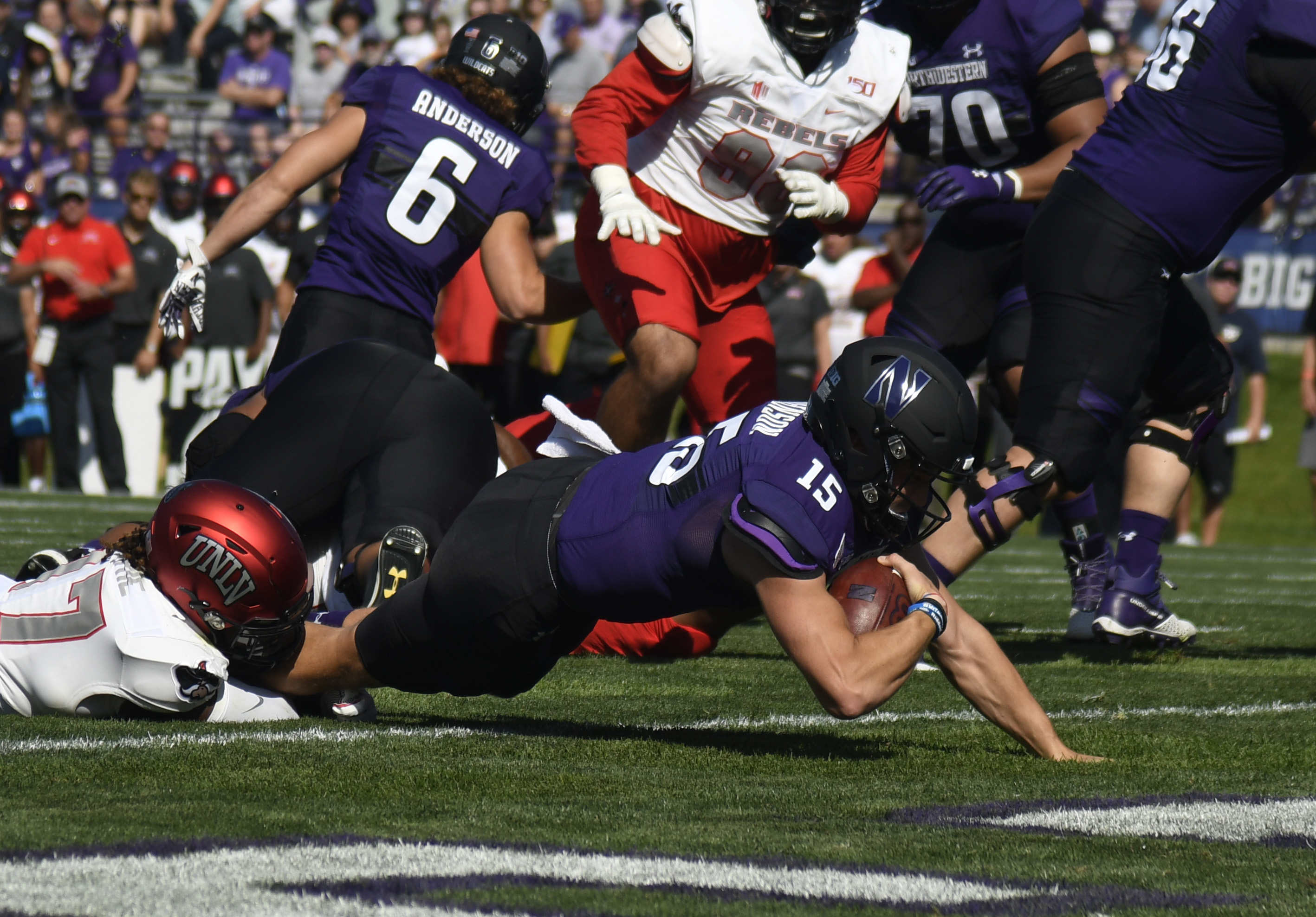 NCAA Football: UNLV at Northwestern