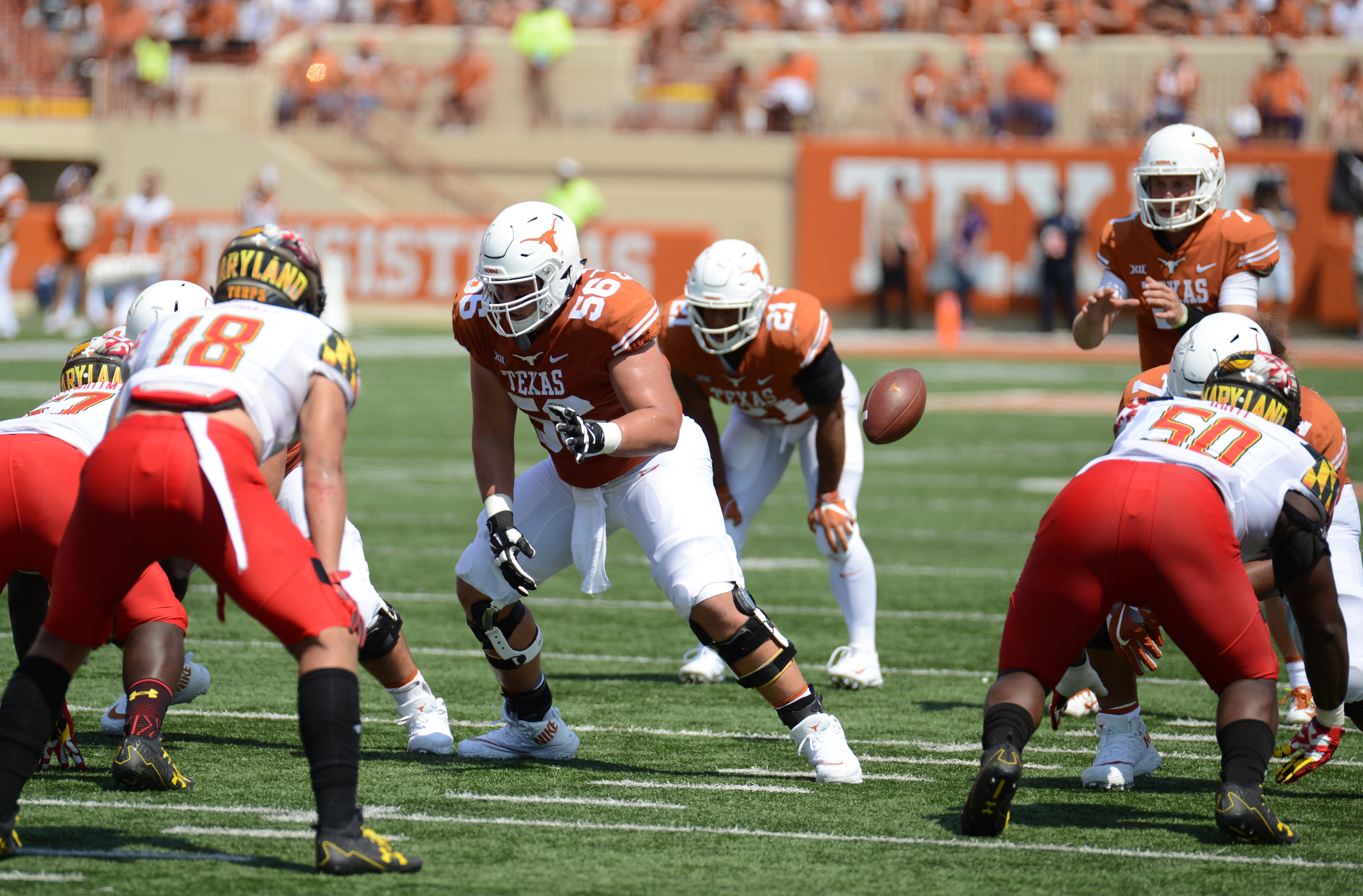 COLLEGE FOOTBALL: SEP 02 Maryland at Texas
