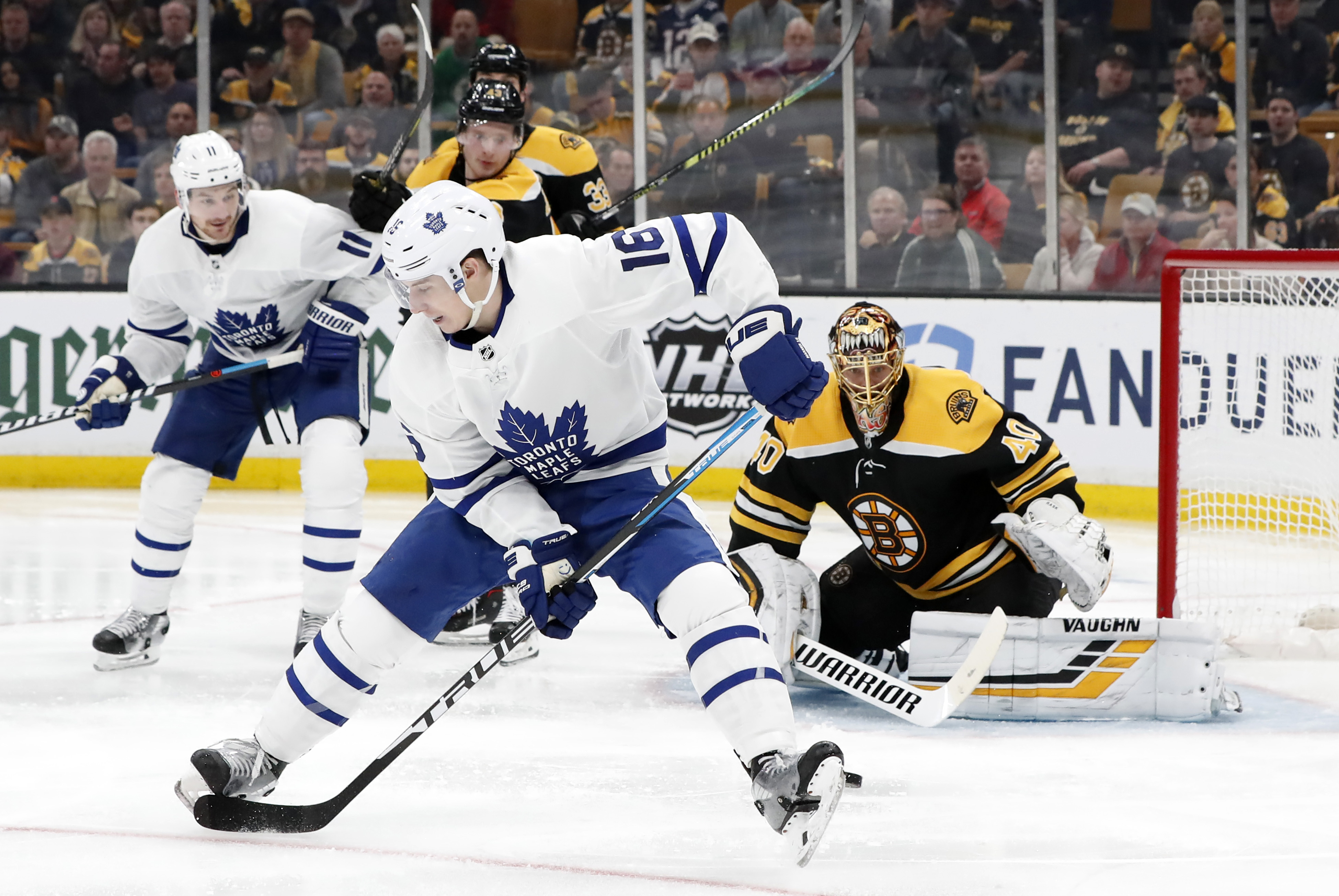 NHL: APR 23 Stanley Cup Playoffs First Round - Maple Leafs at Bruins