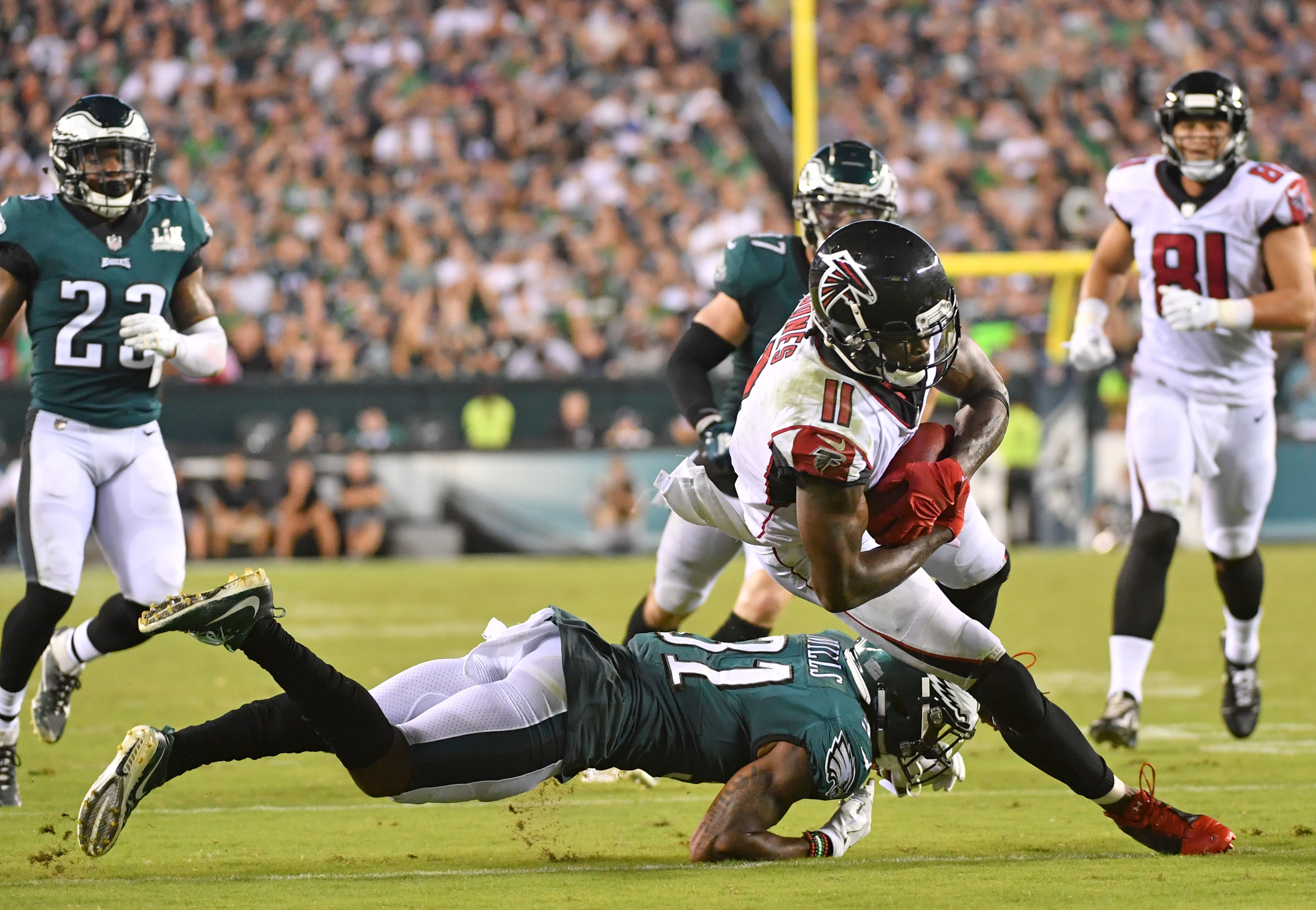 NFL: Atlanta Falcons at Philadelphia Eagles