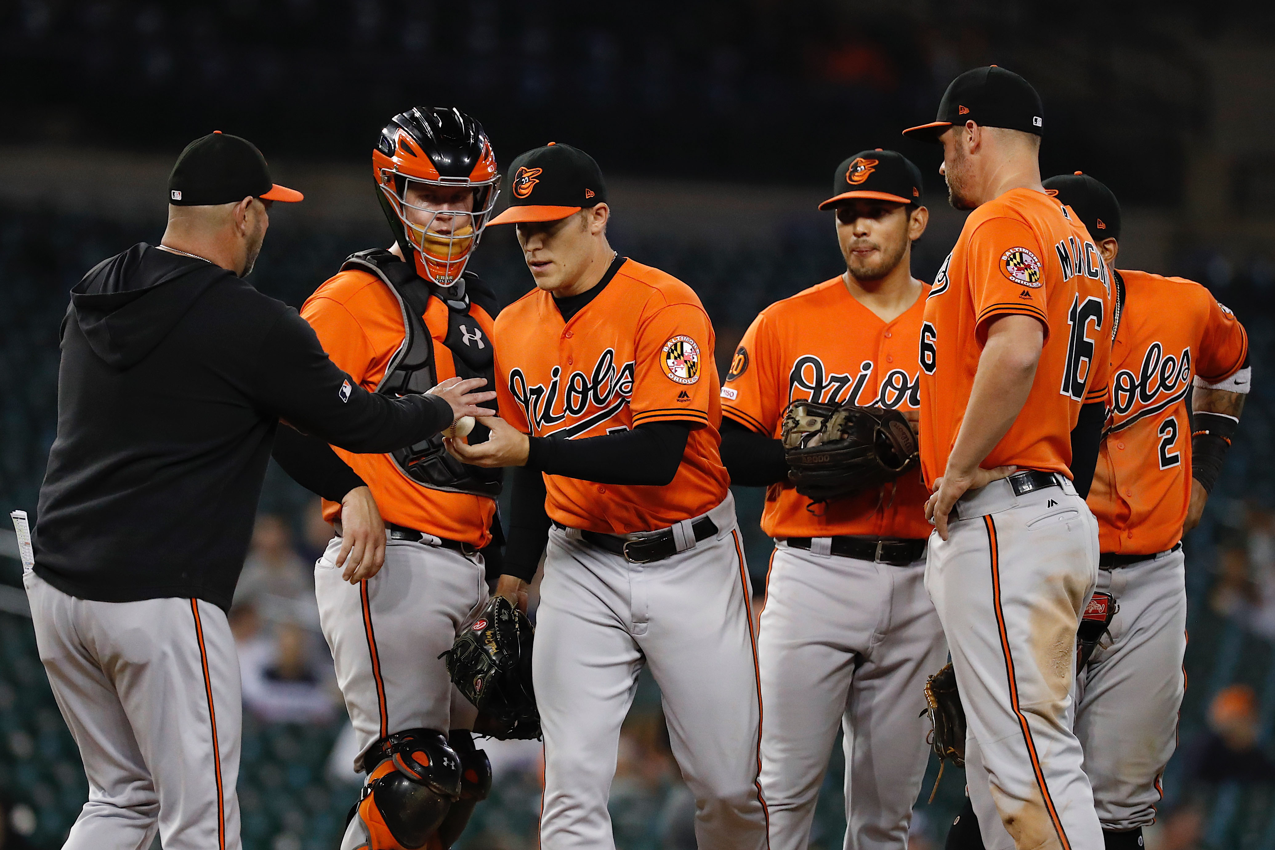 MLB: Baltimore Orioles at Detroit Tigers