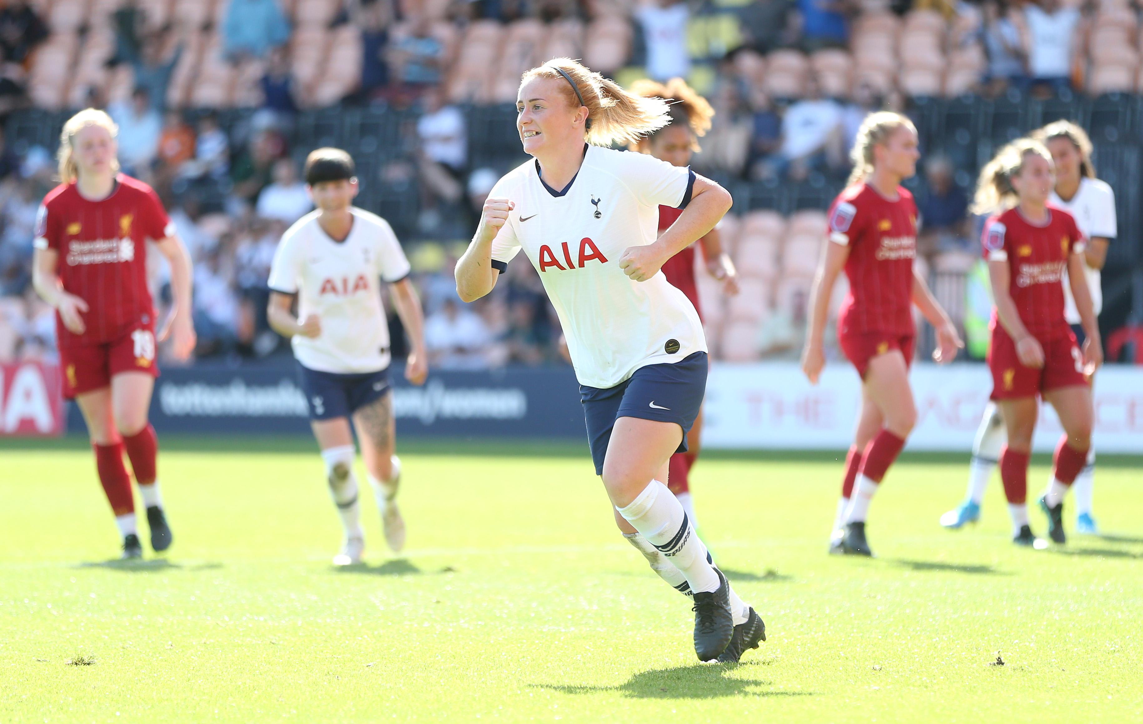 Tottenham Hotspur v Liverpool - Barclays FA Women's Super League