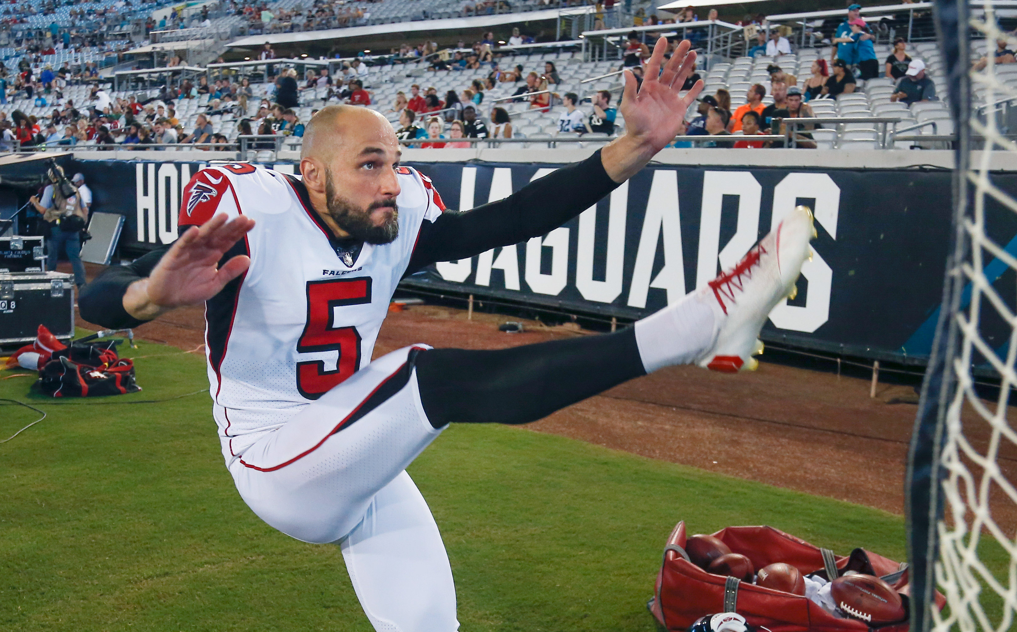 NFL: Preseason-Atlanta Falcons at Jacksonville Jaguars