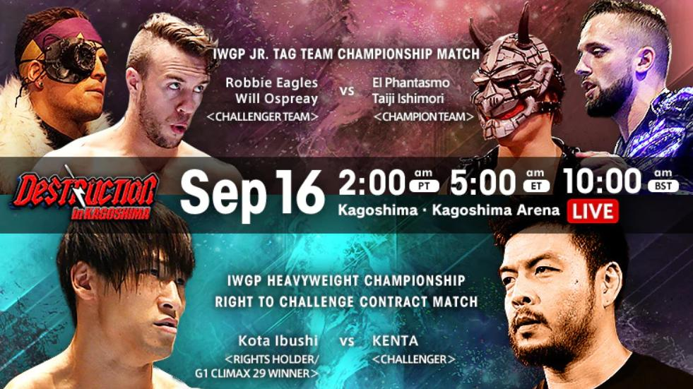 Poster for NJPW Destruction in Kagoshima 2019
