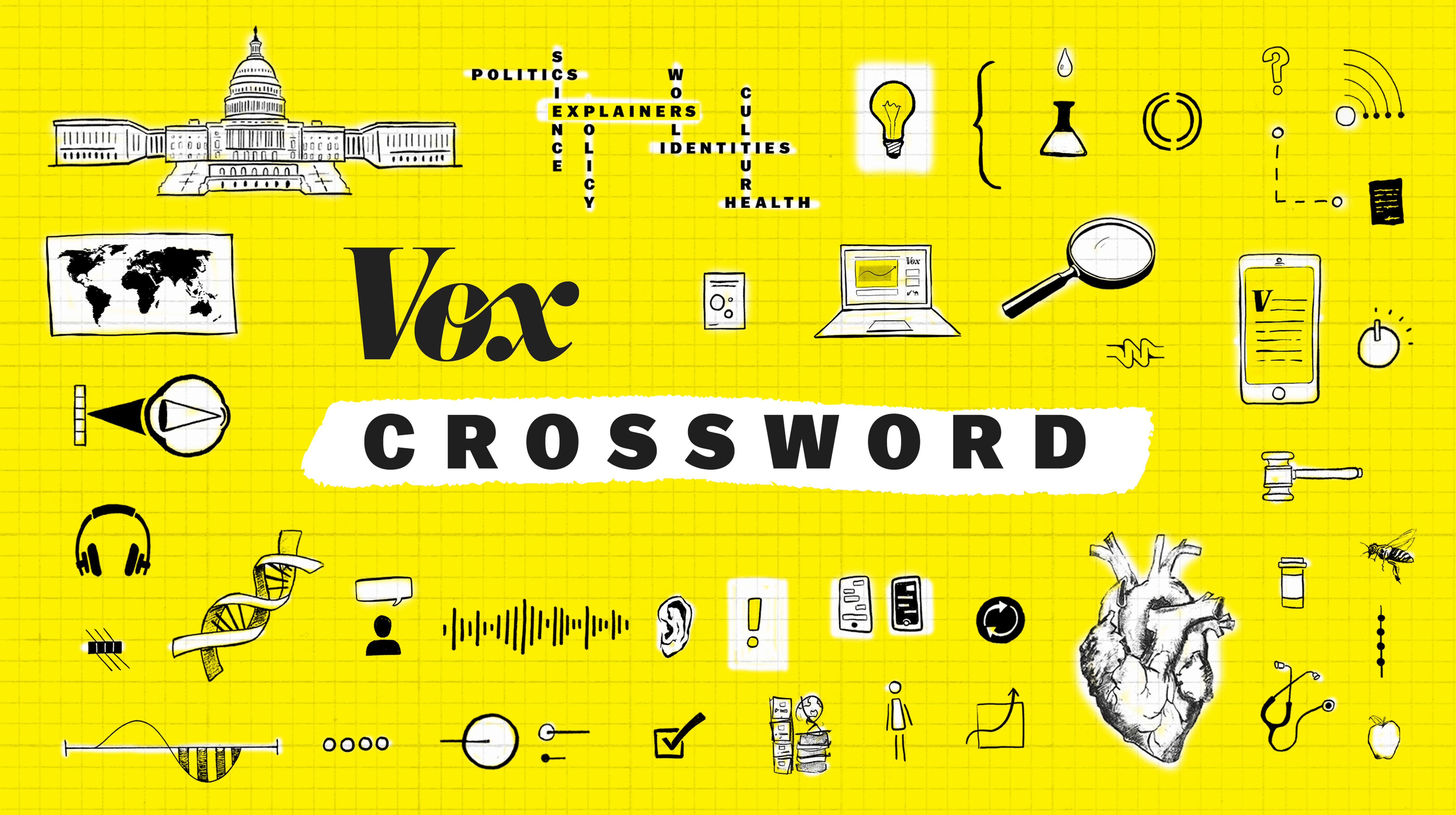 New Vox Crossword puzzles come out Monday through Saturday