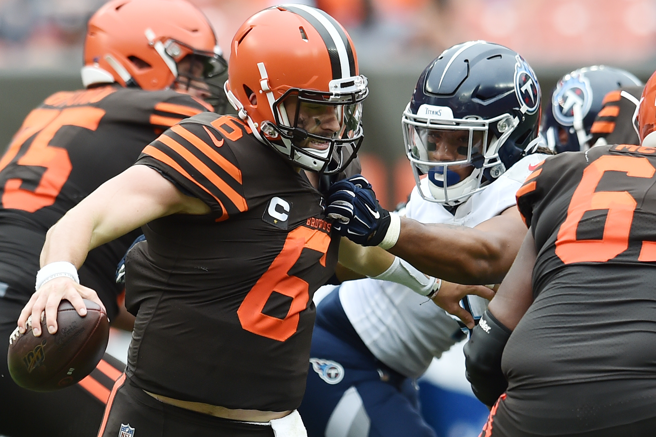 NFL: Tennessee Titans at Cleveland Browns