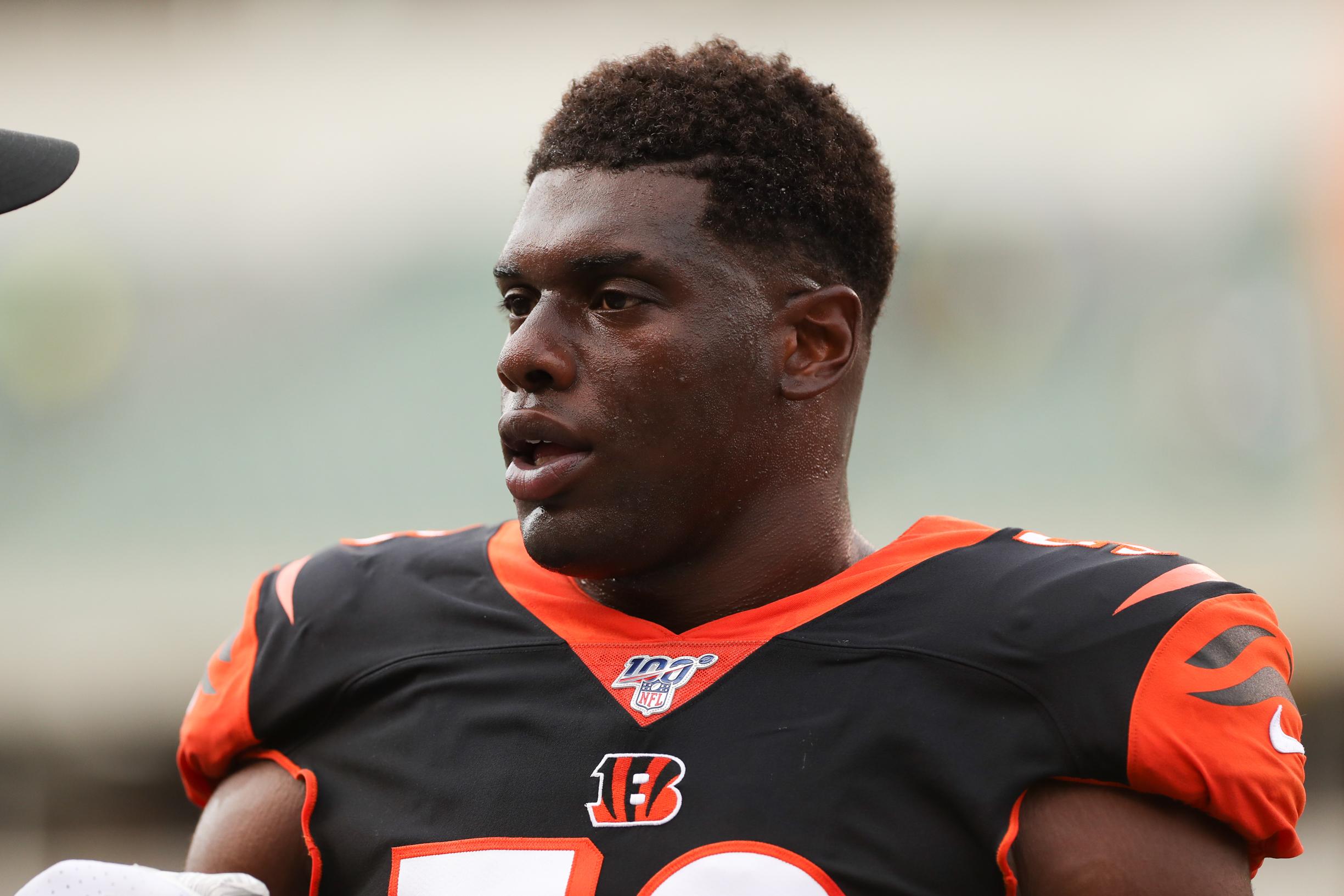 NFL: AUG 22 Preseason - Giants at Bengals