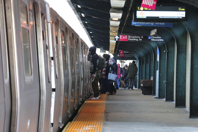 New York City Subway Train
