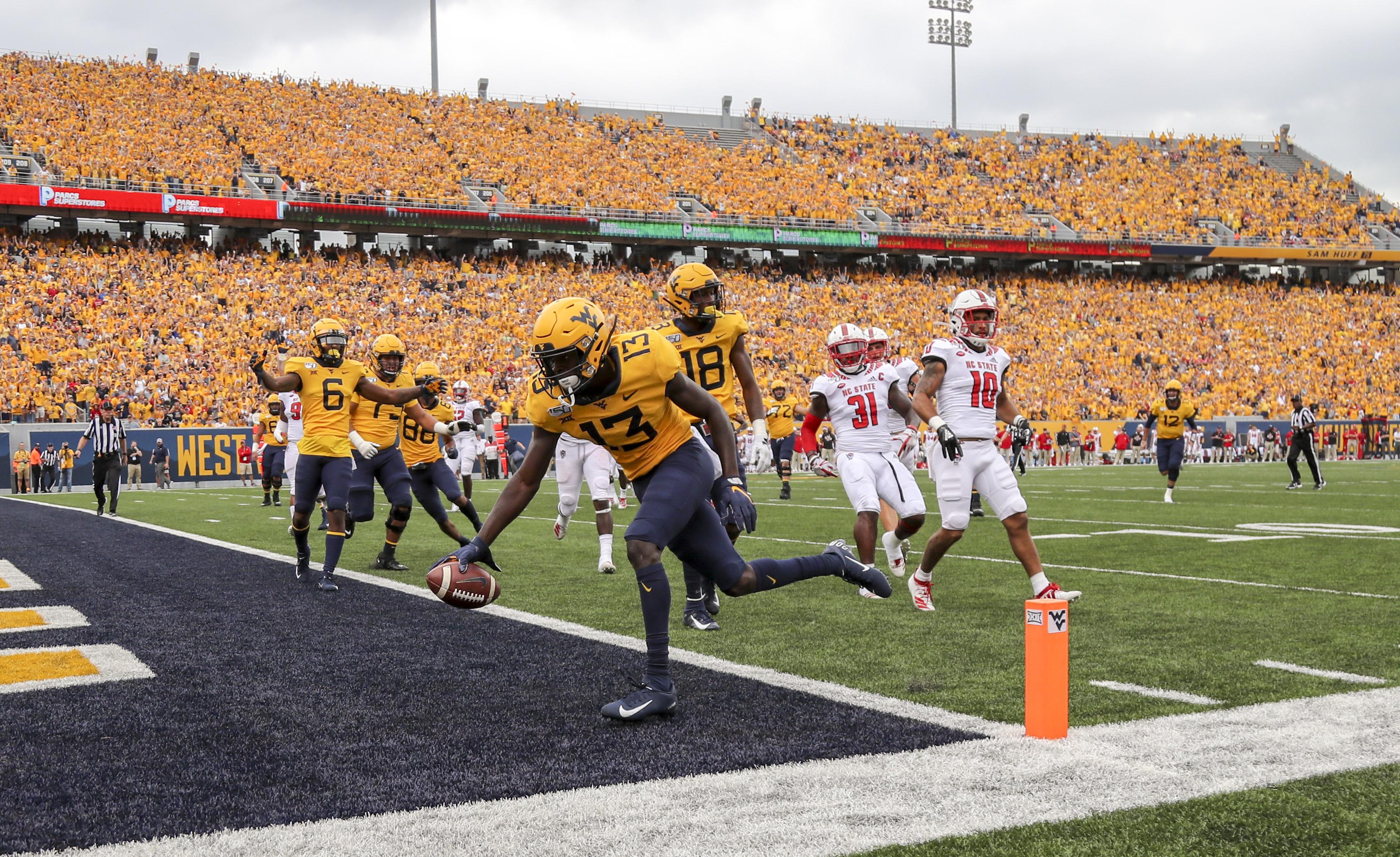 NCAA Football: North Carolina State at West Virginia