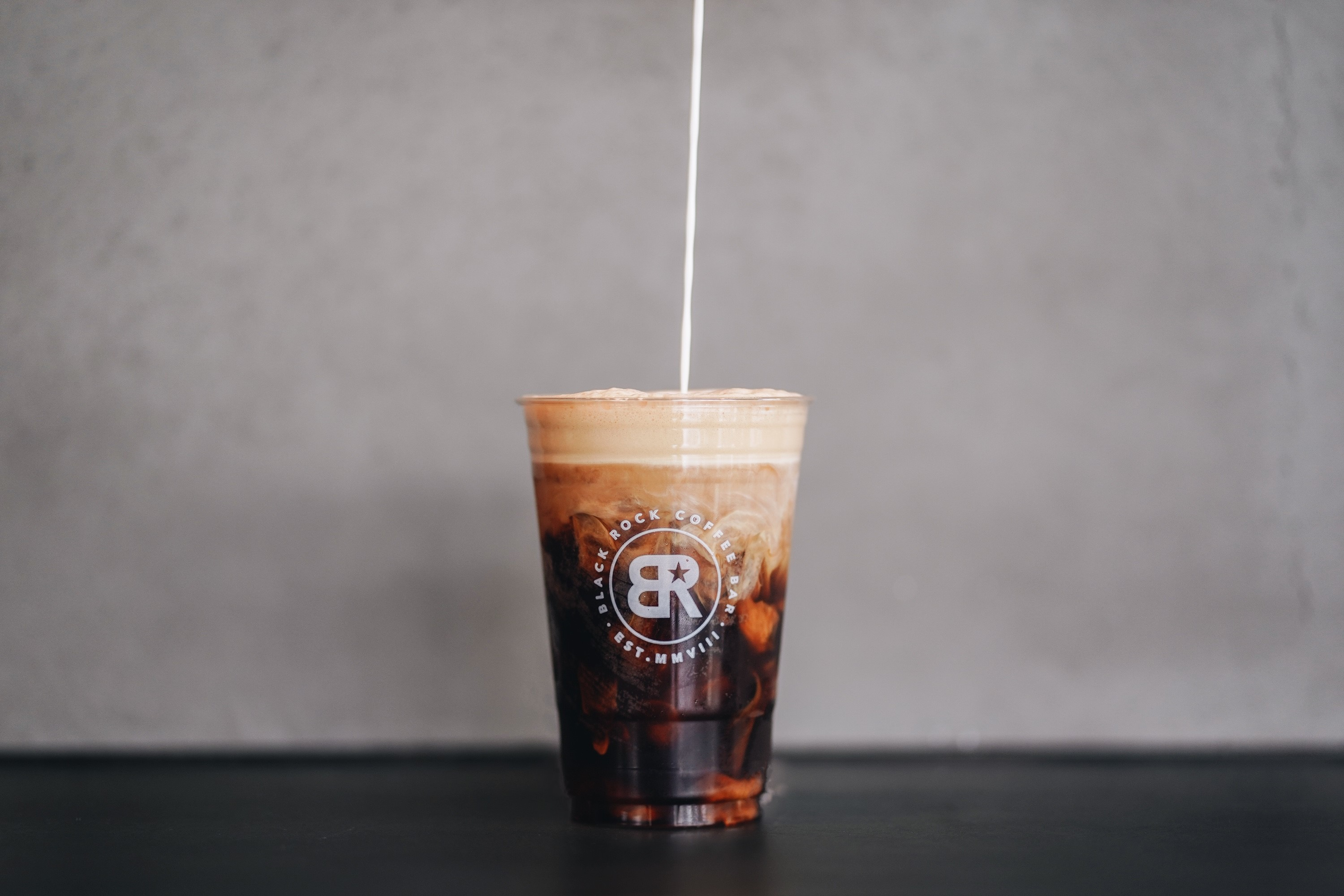 A coffee drink from Black Rock Coffee