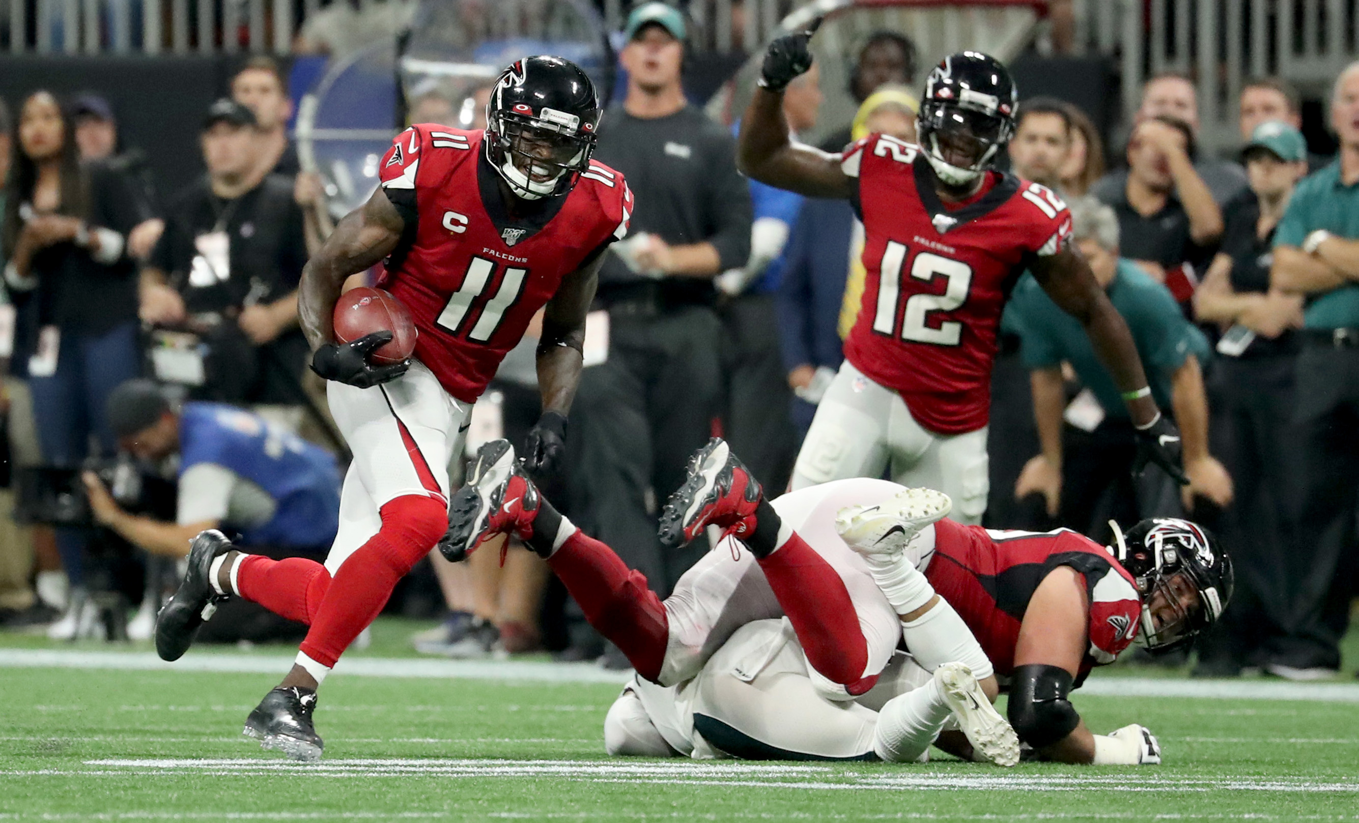 NFL: Philadelphia Eagles at Atlanta Falcons